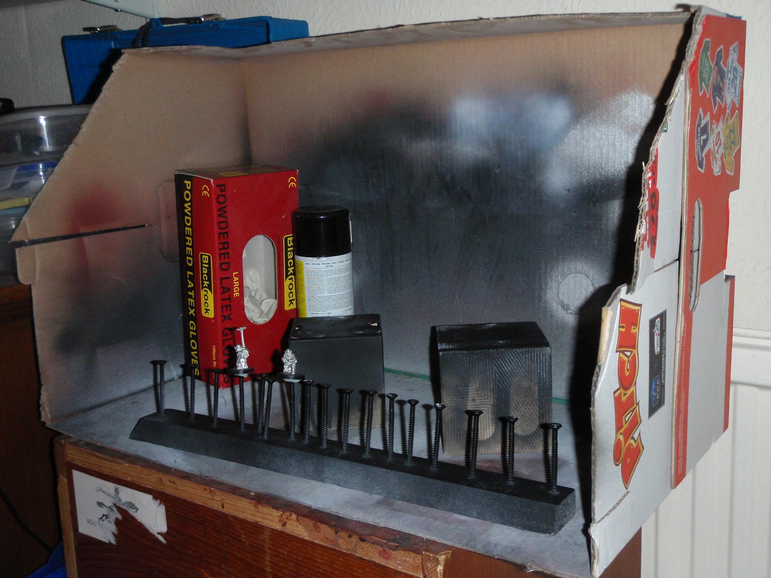 Painting, Spray Booth, Tools, Undercoat