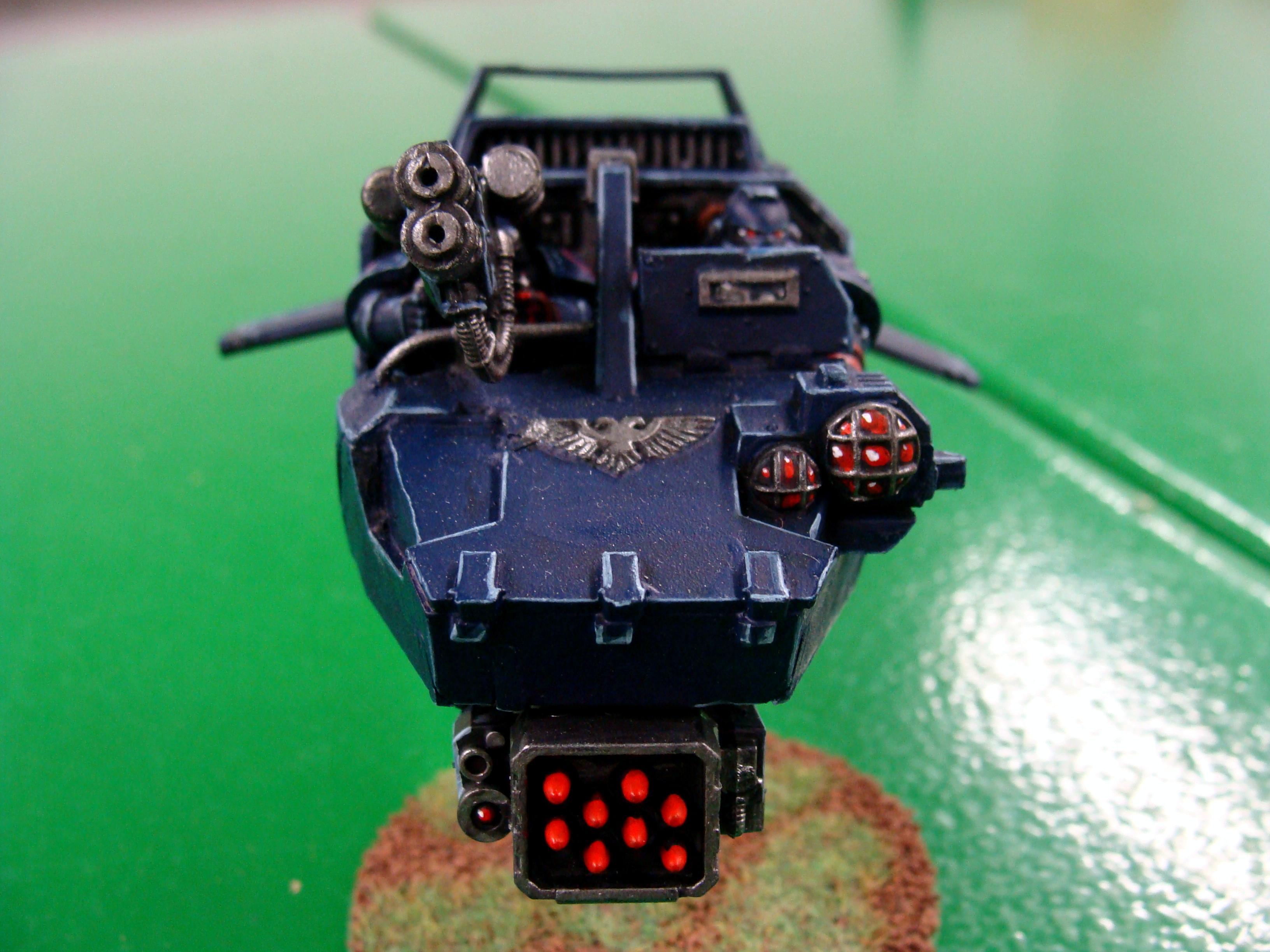 Land Speeder, Front shot land speeder
