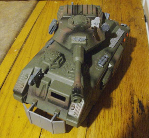 Tank, Toy, Front View