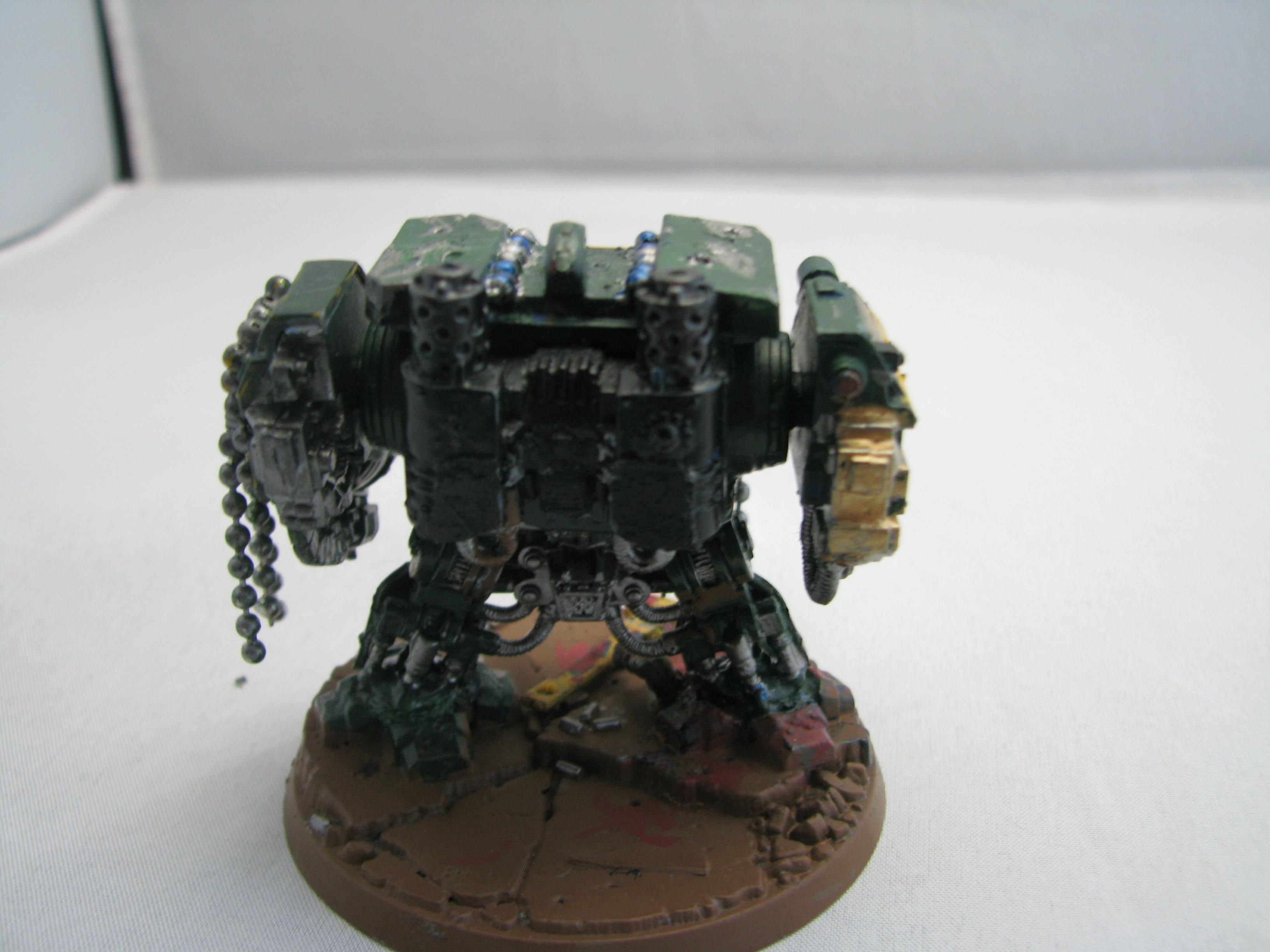 Back, Dreadnought, Space Marines, Warhammer 40,000