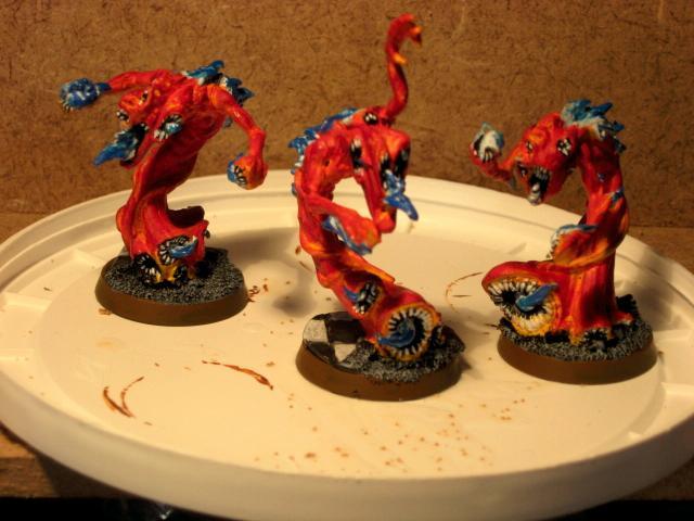 Chaos Daemons, Flamers Of Tzeentch
