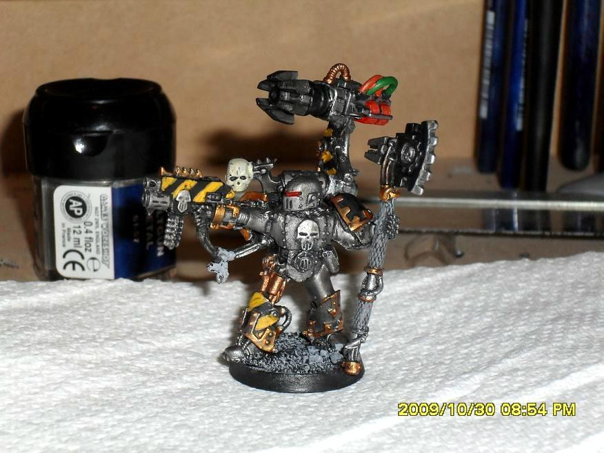 Chaos, Chaos Space Marines, Conversion, Conversion Beamer, Iron Warriors, Warsmith