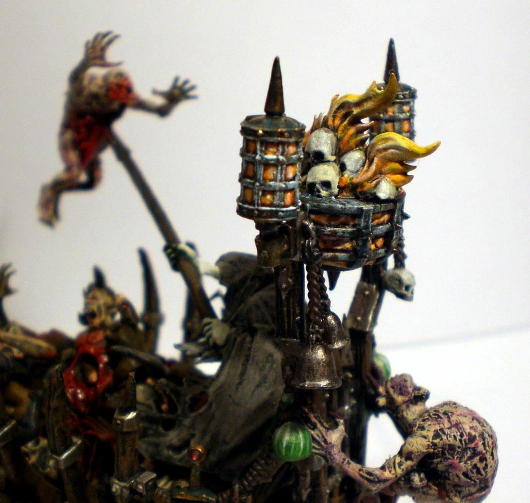 Cart, Corpse, Fire, Vampire Counts, Zombie