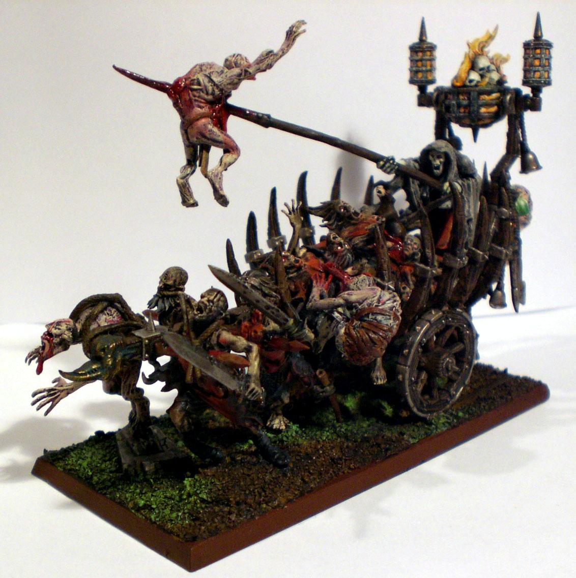 Cart, Corpse, Corpse Cart, Fire, Vampire Counts, Zombie
