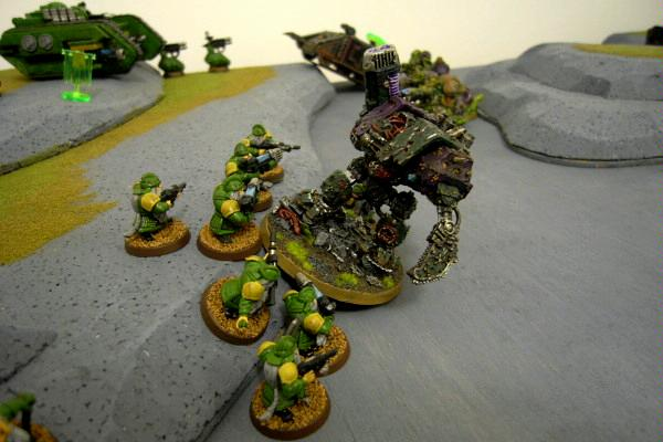 Battle Report, Chaos Space Marines, Nurgle, Squats, Warhammer 40,000
