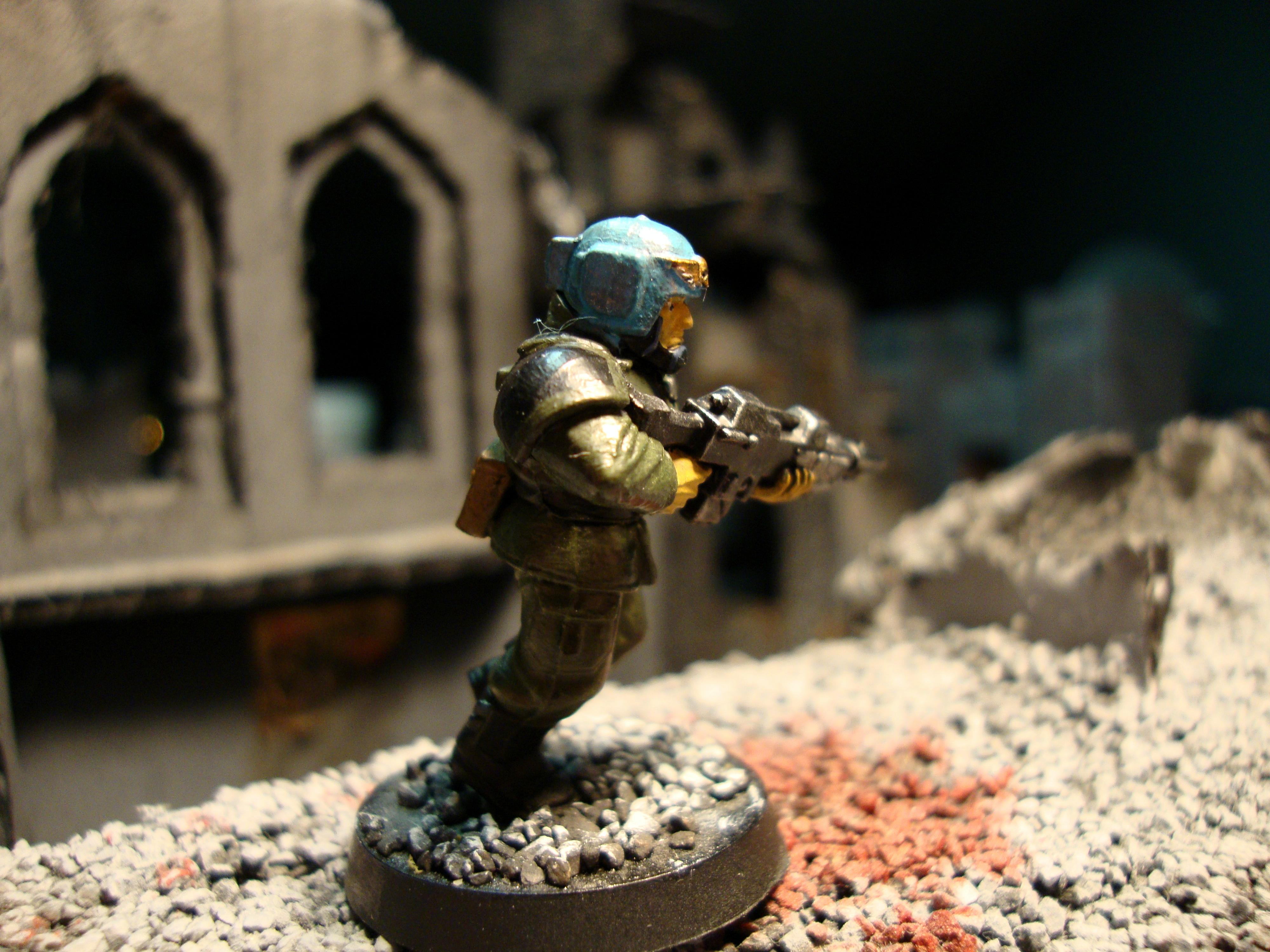 Imperial Guard, Test