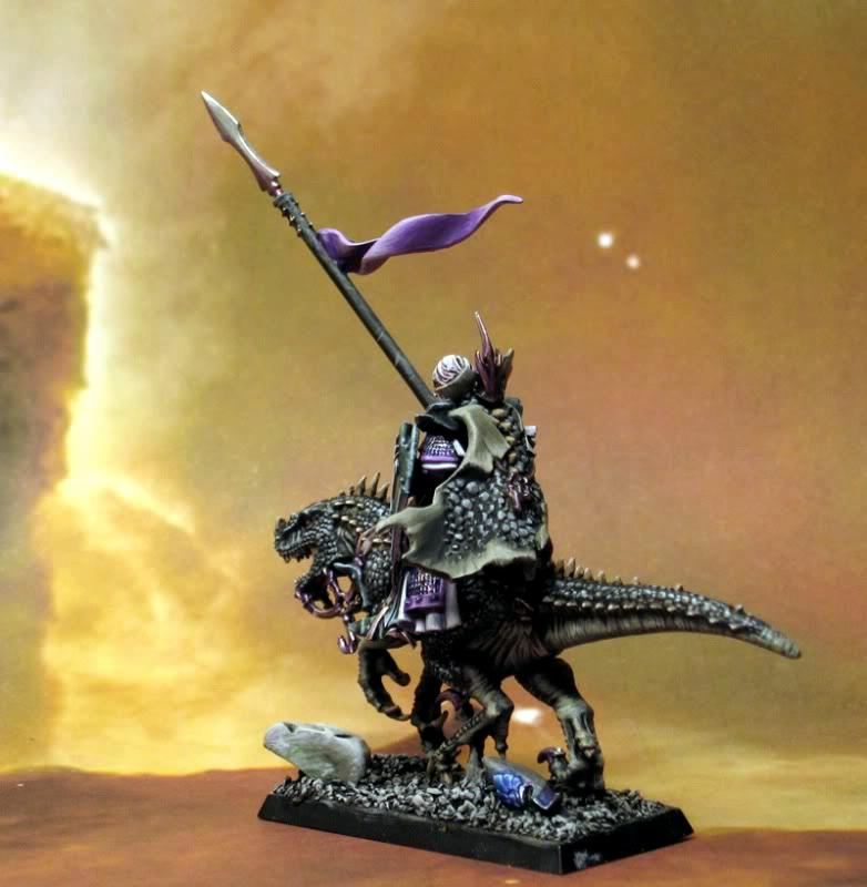 Cold One Knight, Dark Elves, Dark Elves Elf