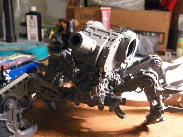 wip defiler, just set the head on the body for the pic