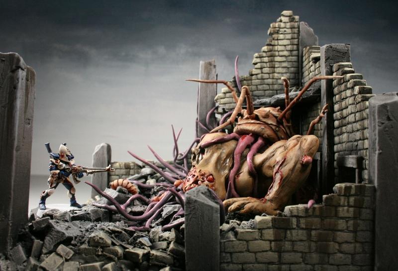 Chaos, Cities Of Death, Daemons, Nurgle, Terrain
