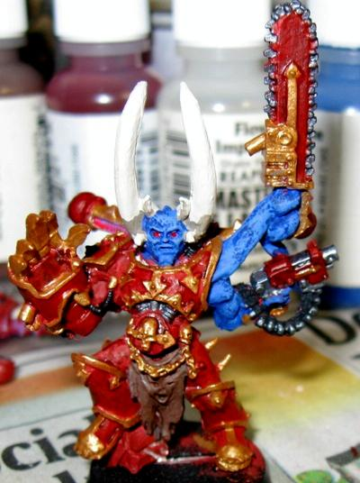 Chaos Space Marines, Possessed, Warhammer 40,000, Word Bearers, Work In Progress