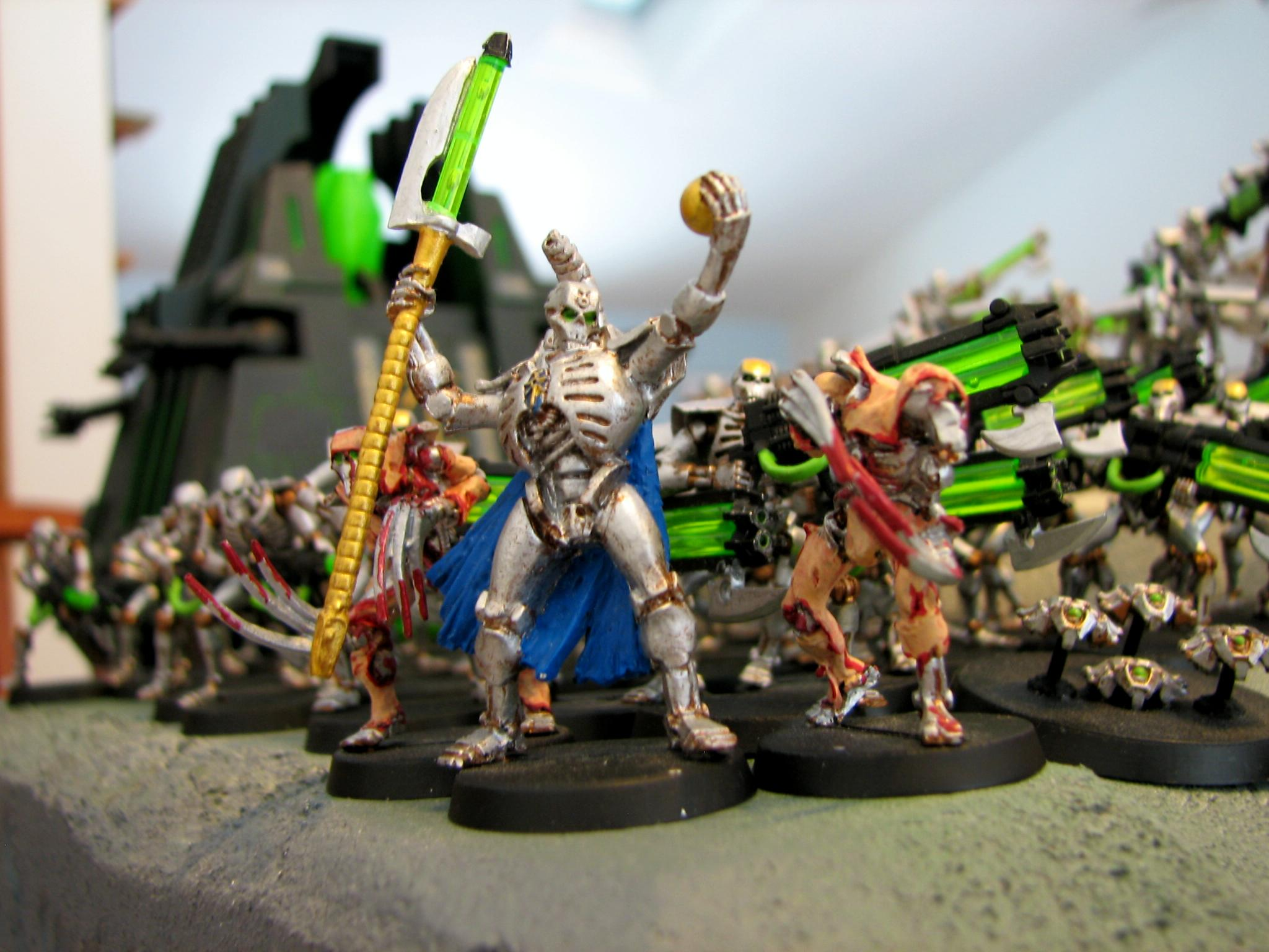 Army, Destroyer, Flayed Ones, Immortal, Lord, Necrons, Warhammer 40,000, Warriors