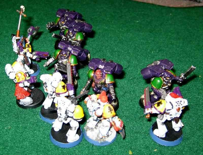 Assault Squad, Space Marines