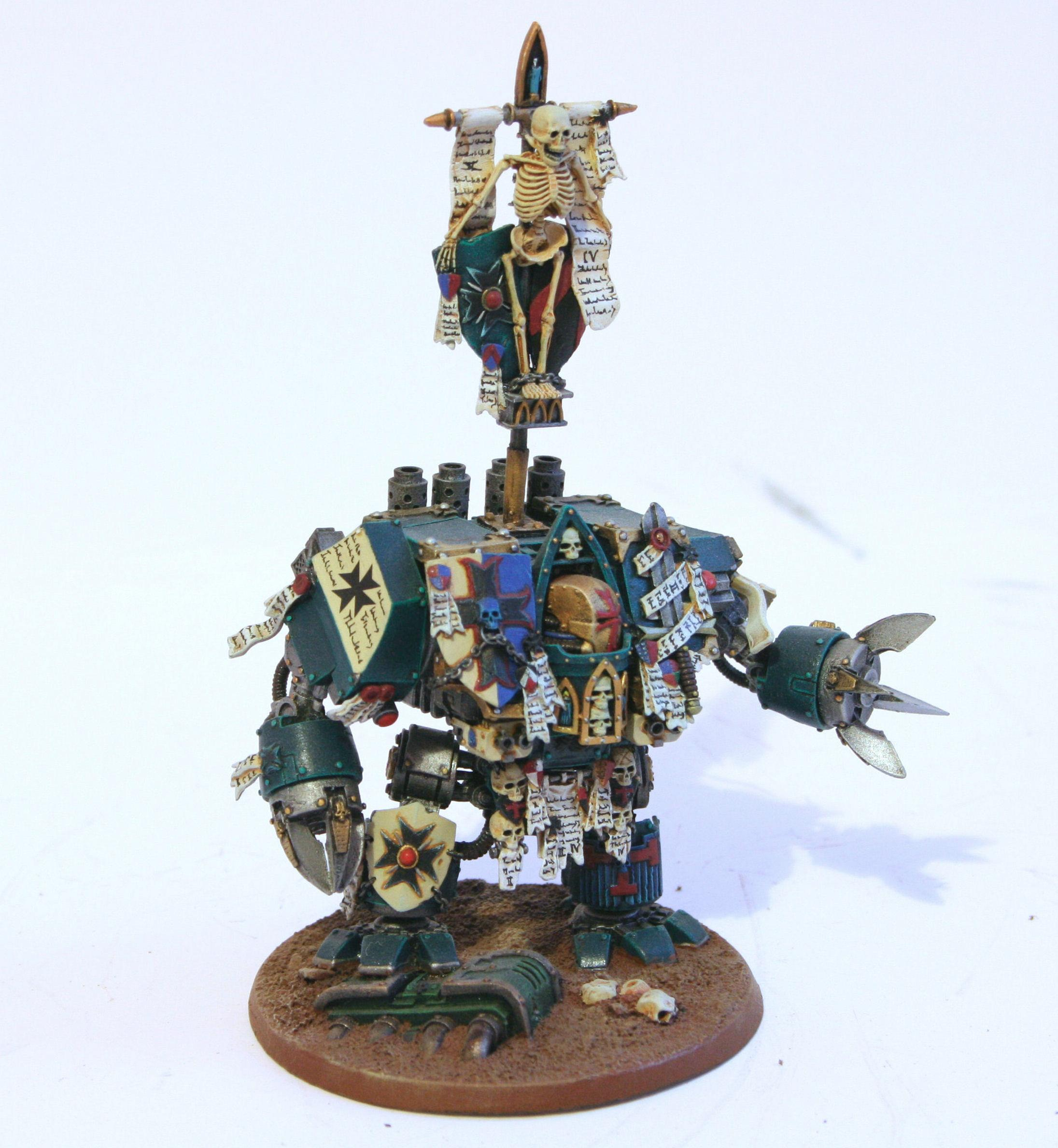 Custom Chapter, Dreadnought, Space Marines