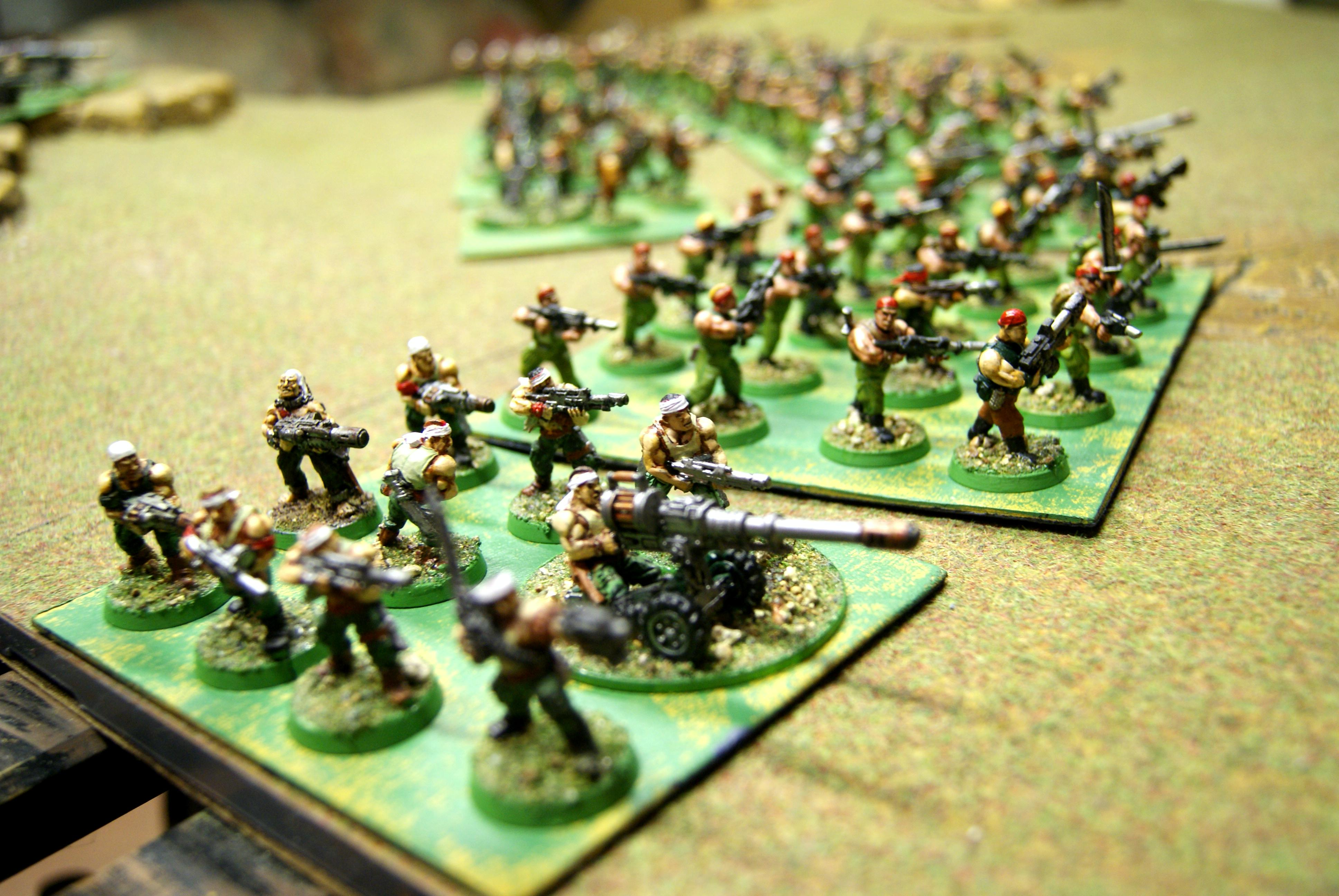 Catachan, Imperial Guard, Movement Tray