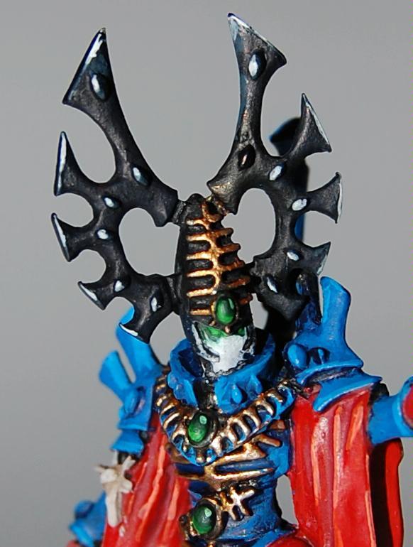 Bonesinger, Eldar, Helmet and Gems