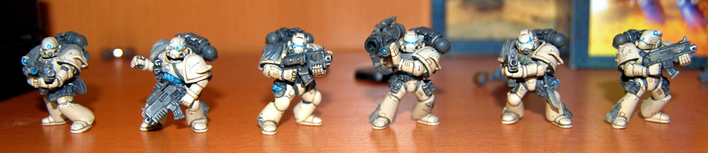 Brown Stuff, Desert, Space Marines, Tactical Squad