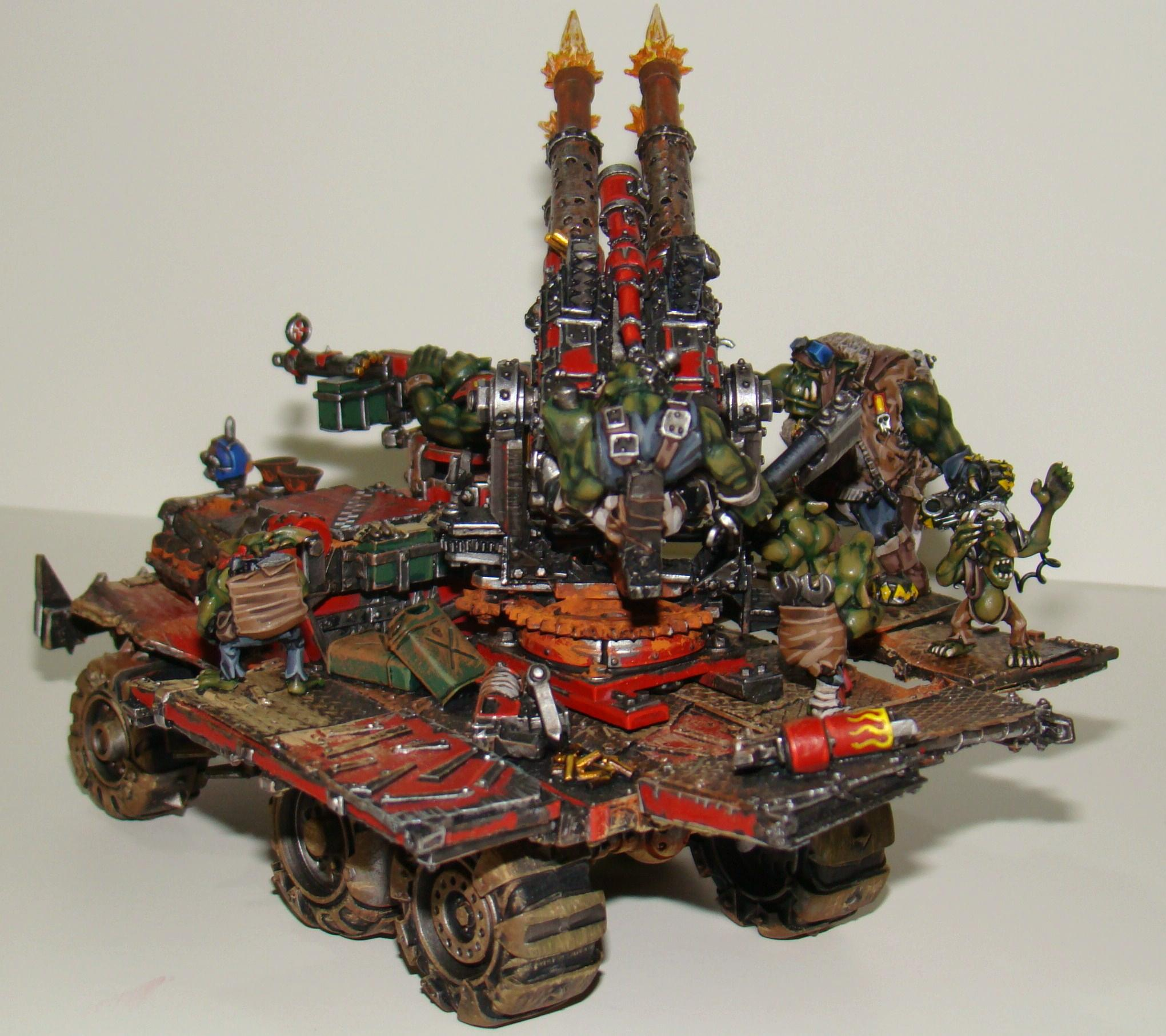 Orks, Tank, Vehicle, Warhammer 40,000