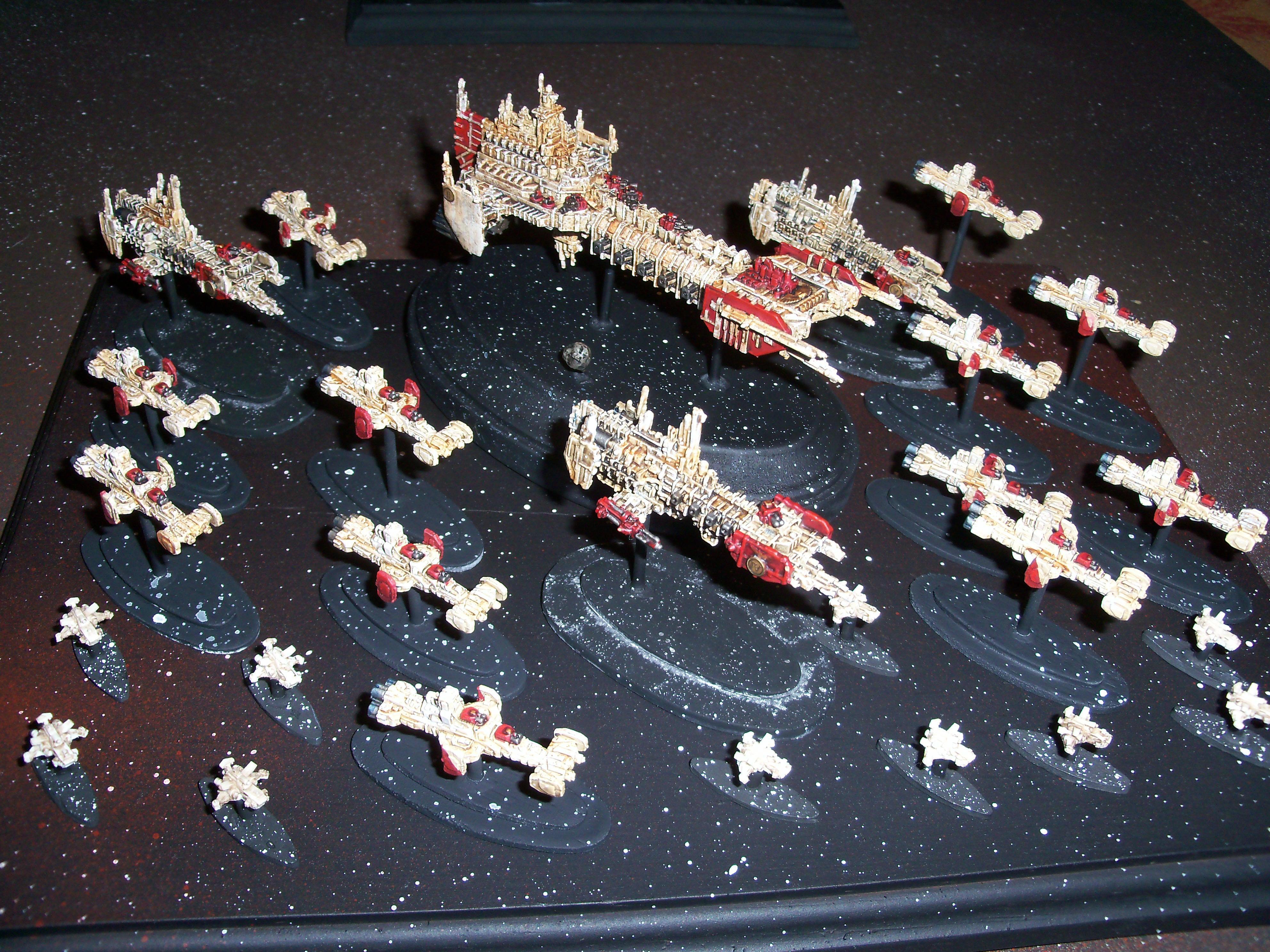 Battle Barge, Battlefleet Gothic, Space Marine Fleet, Strike Cruiser