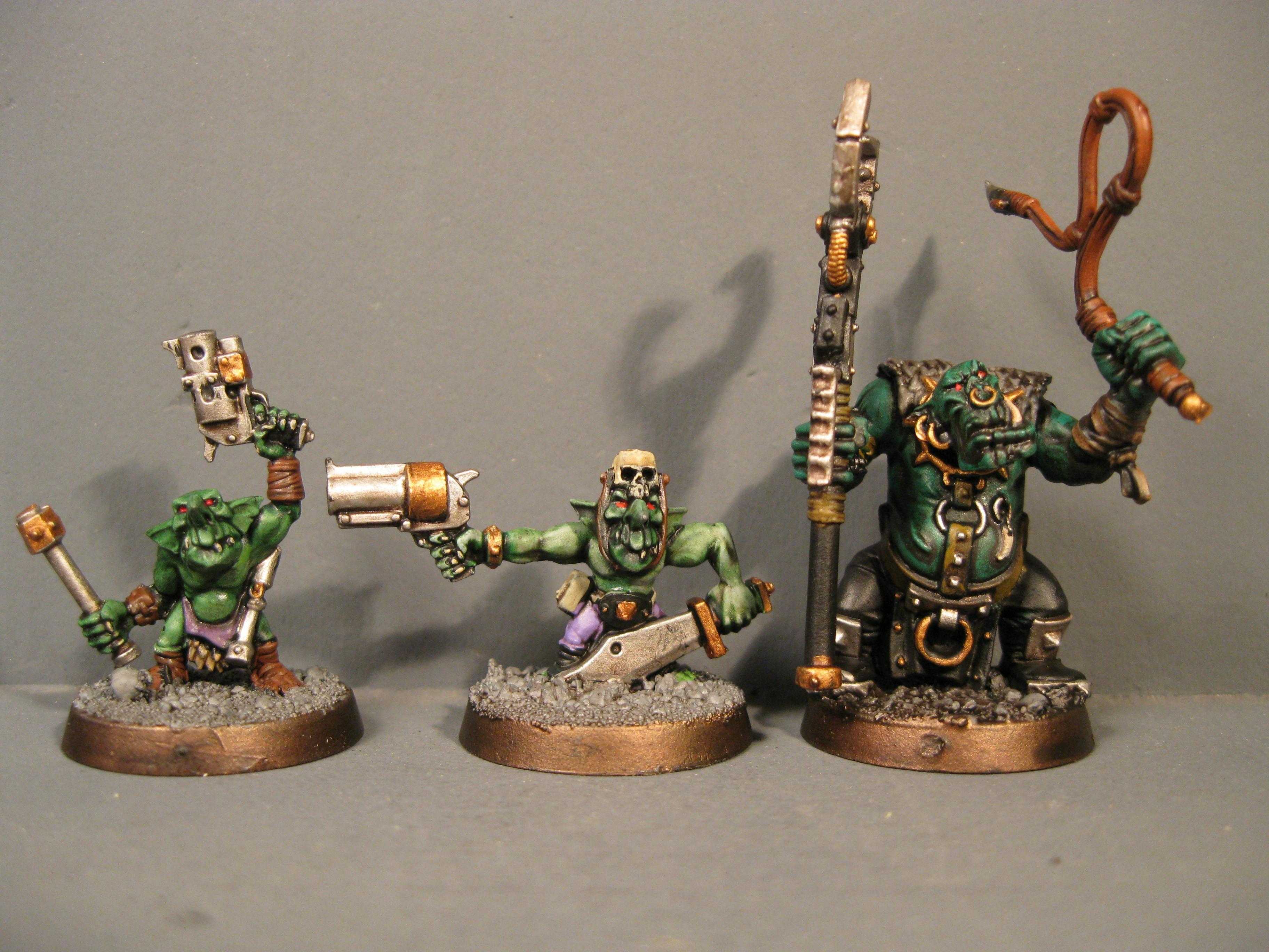 Goblins, Grabba, Gretchen, Orcs, Orks, Runtherd, Warhammer 40,000