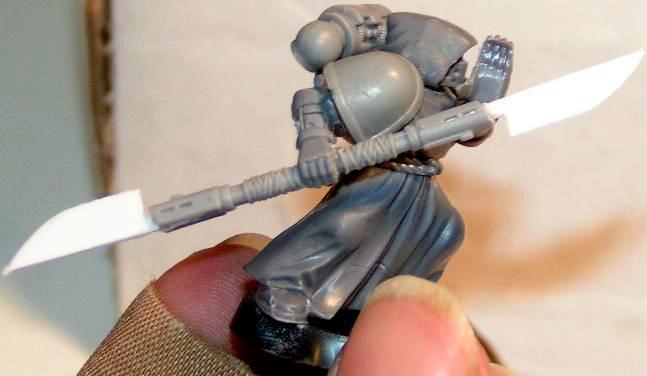 Conversion, Honor Guard, Ninja Jedi, Royal Guardsman, Warhammer 40,000