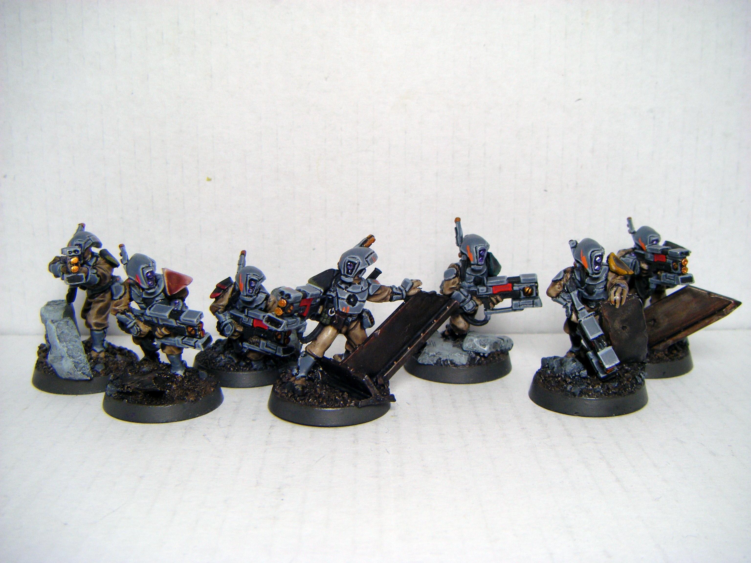 Pathfinders, Tau, Warhammer 40,000