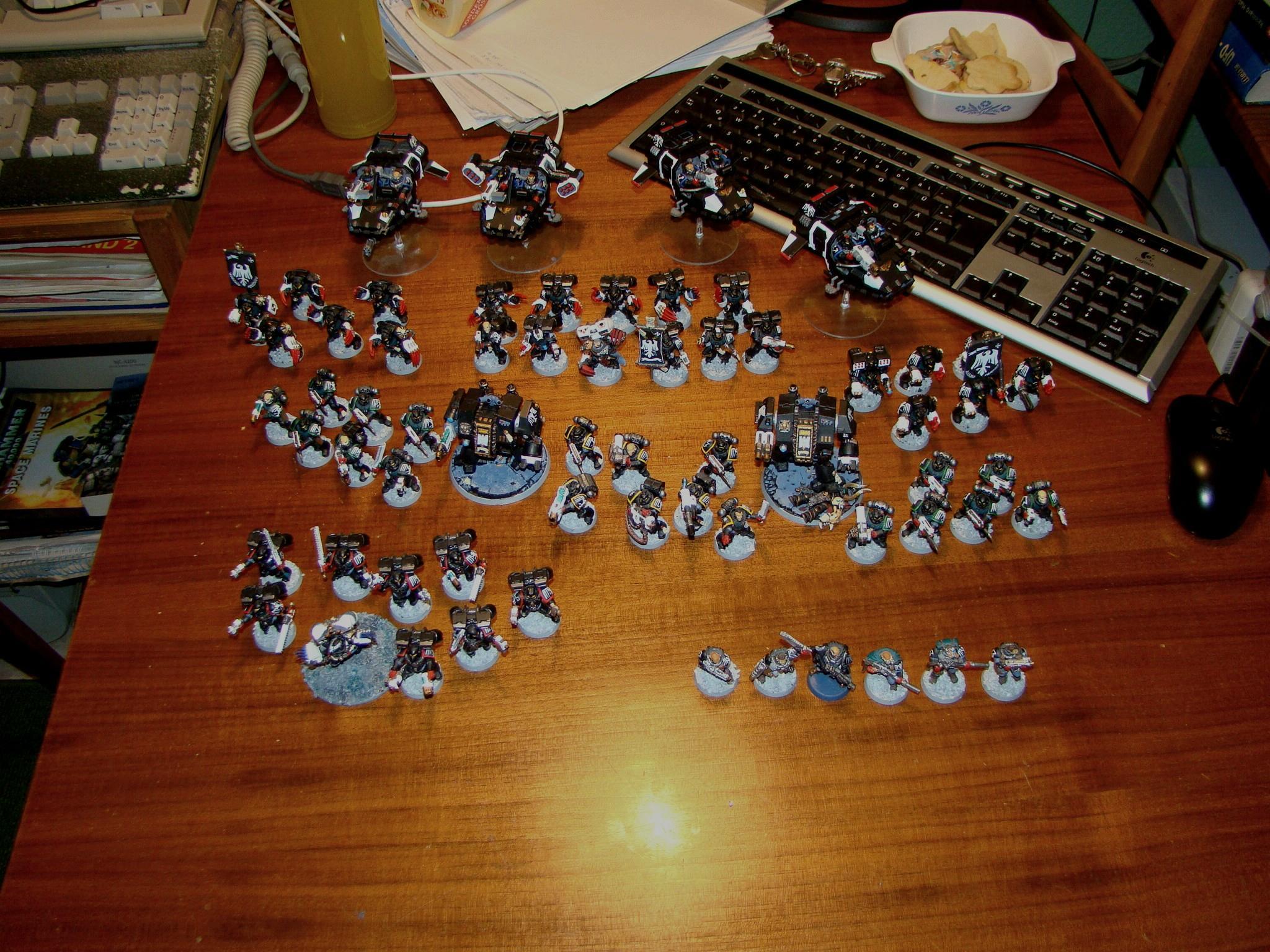Raven Guard, Space Marines, Warhammer 40,000