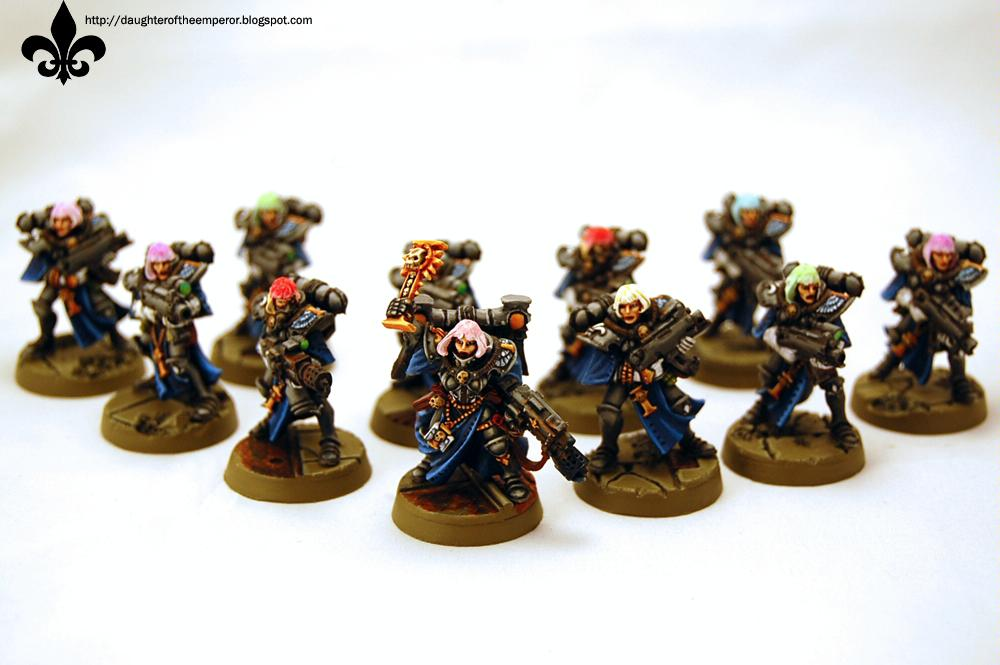 Sisters Of Battle, Warhammer 40,000, Witch Hunters