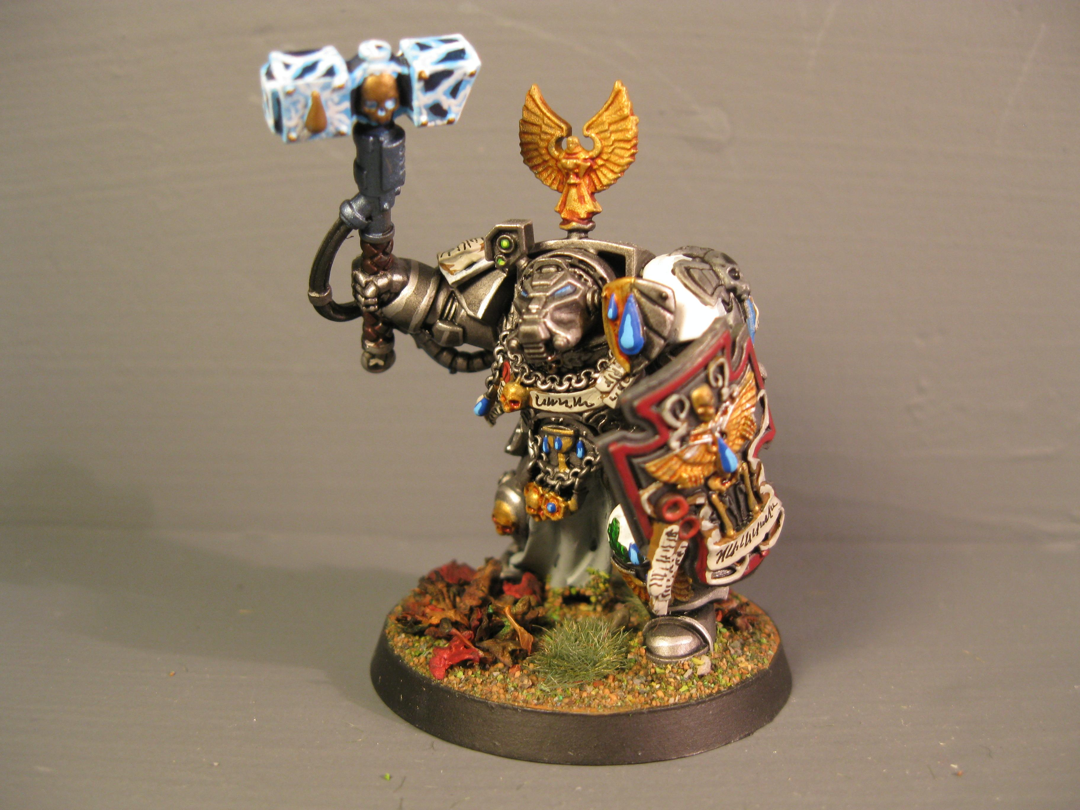 Iron Snakes, Pro Painted, Space Marines, Storm Shield, Terminator Armor, Thunder Hammer, Warhammer 40,000
