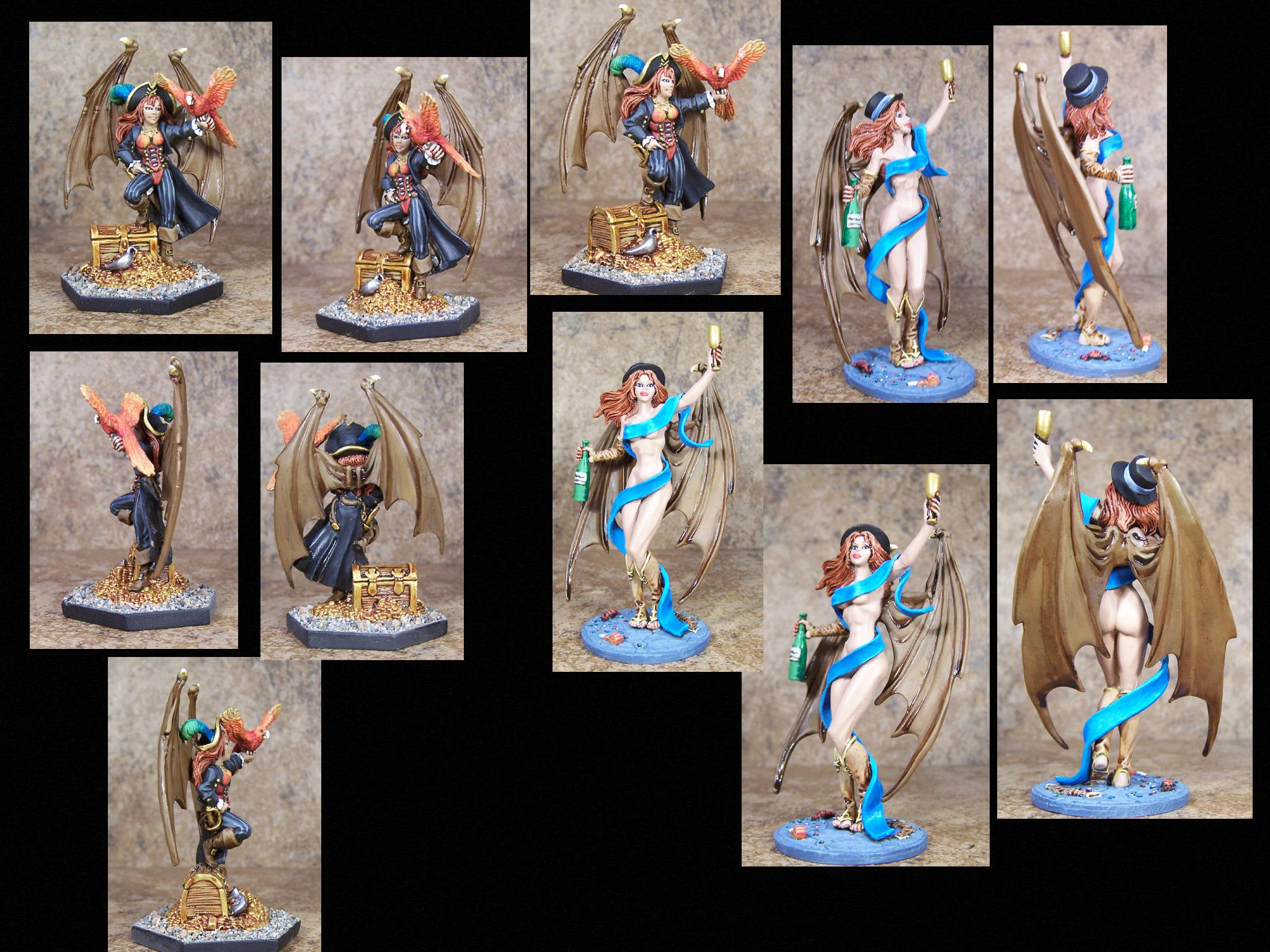 Daemons, Female, New Years, Pathfinders, Pro Painted, Reaper, Reaper Miniatures, Reaper Minis, Rpg, Sexy, Succubus, Warhammer Fantasy