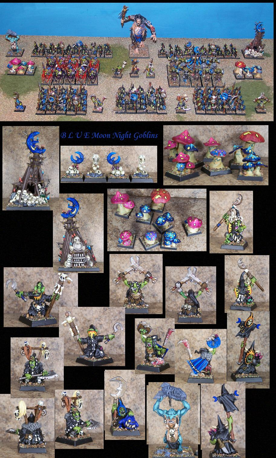 Giant, Goblins, Gobos, Night Goblins, Orcs, Orcs And Goblins, Orks, Pro Painted, Rpg, Warhammer Fantasy