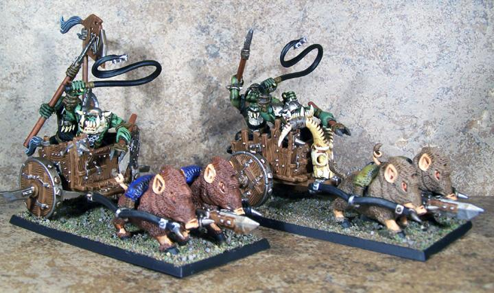 Goblins, Gobos, Hamsters, Orcs, Orcs And Goblins, Orks, Pro Painted, Rpg, Warhammer Fantasy