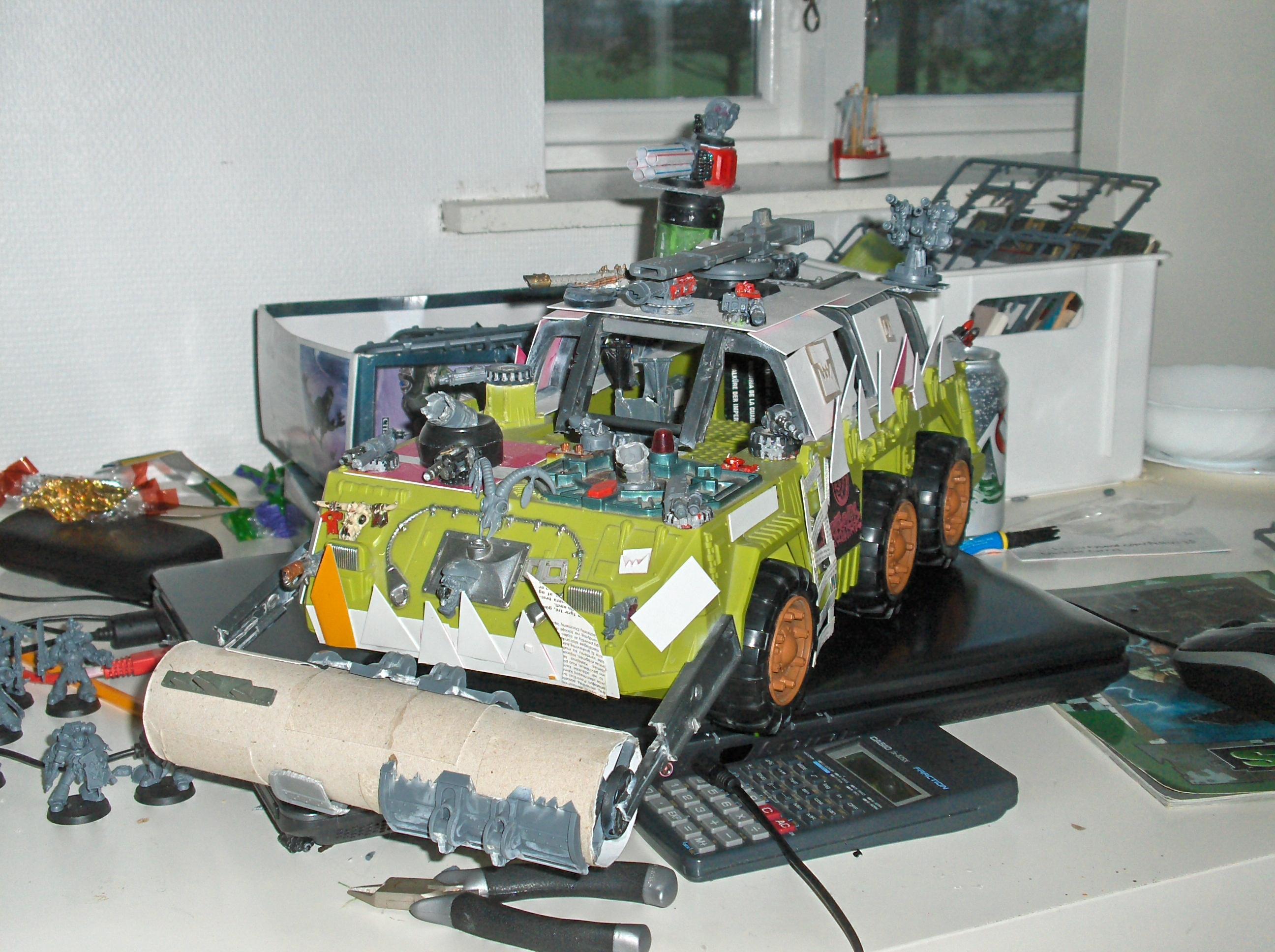 Battlewagon, Orks, Toy
