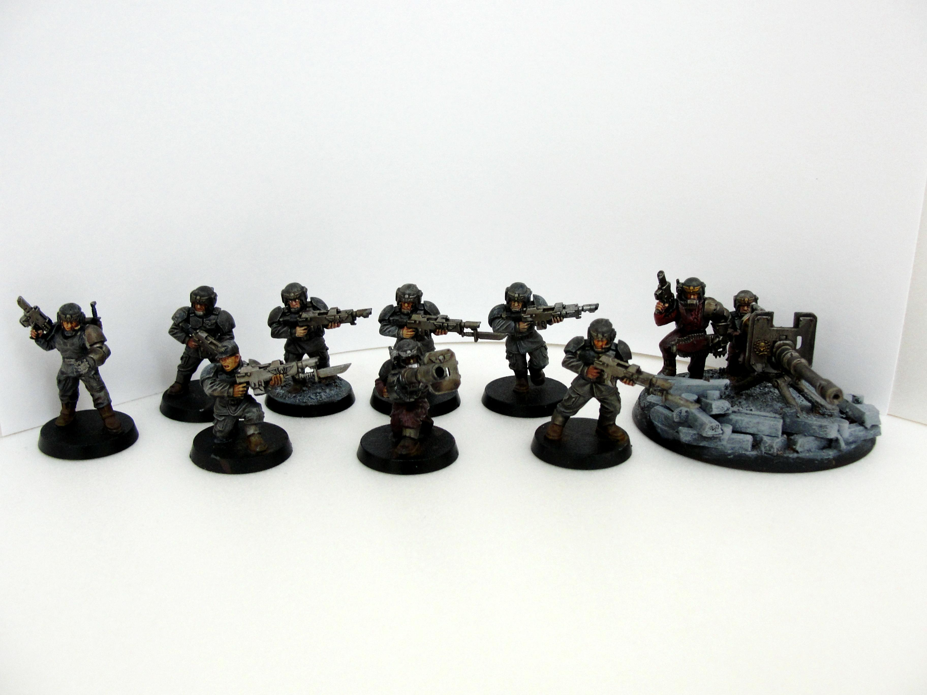 Guardsmen, Urban Camo, Work In Progress
