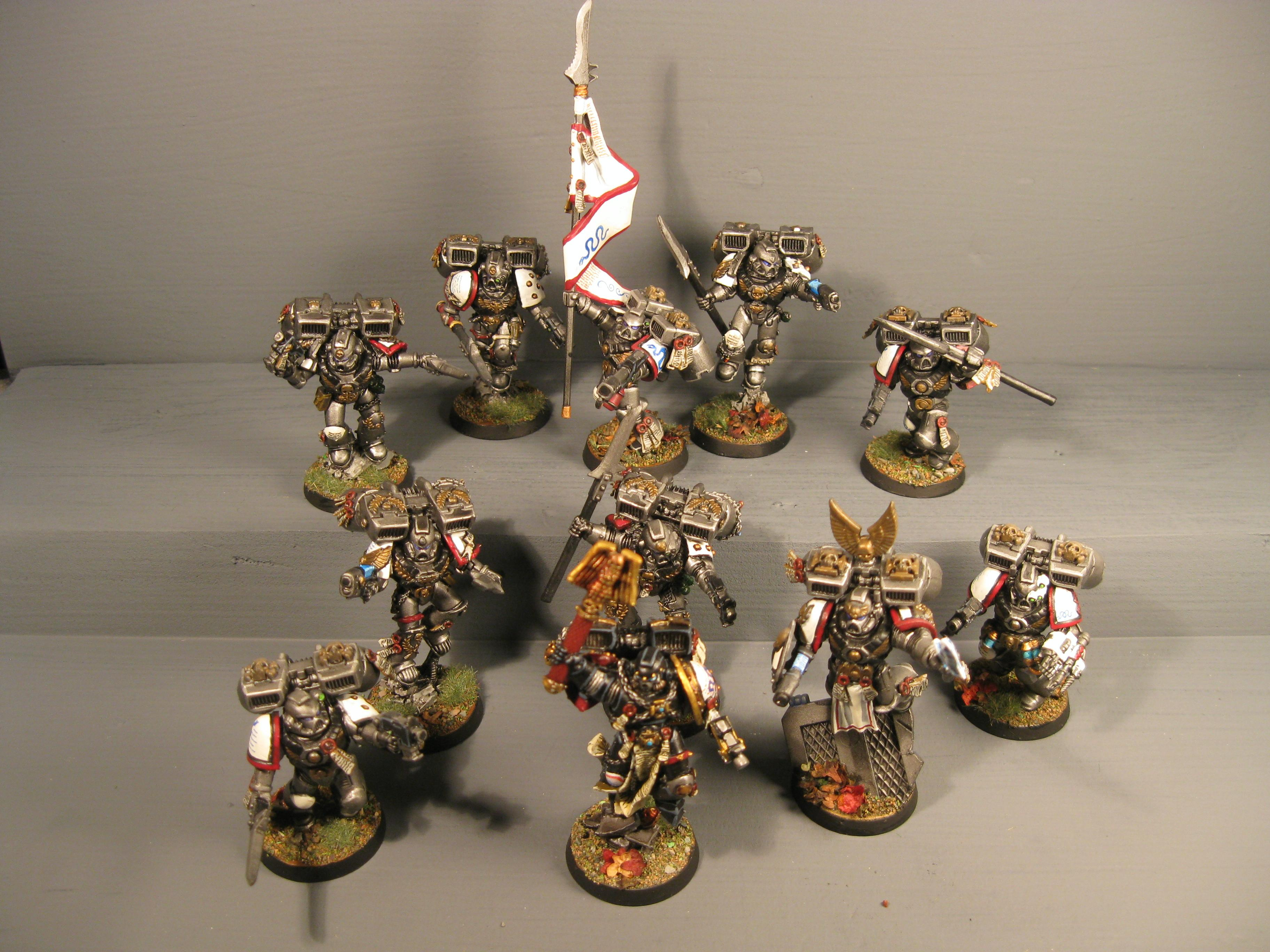 Assault Squad, Iron Snakes, Jump Pack, Pro Painted, Space Marines, Warhammer 40,000