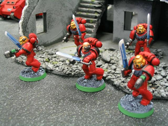 Blood Angels, Honour Guard, Power Weapons, Space Marines, Warhammer 40,000