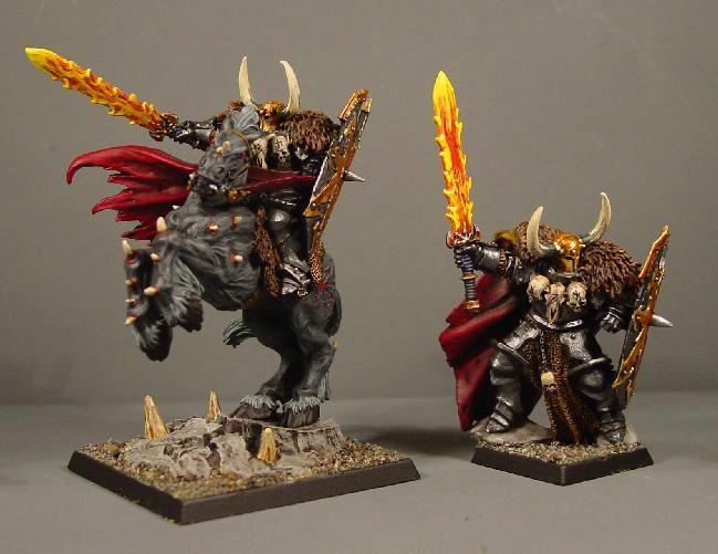 Chaos, Chaos Wariors, Lord, Mount, Pro Painted, Rpg, Warhammer Fantasy