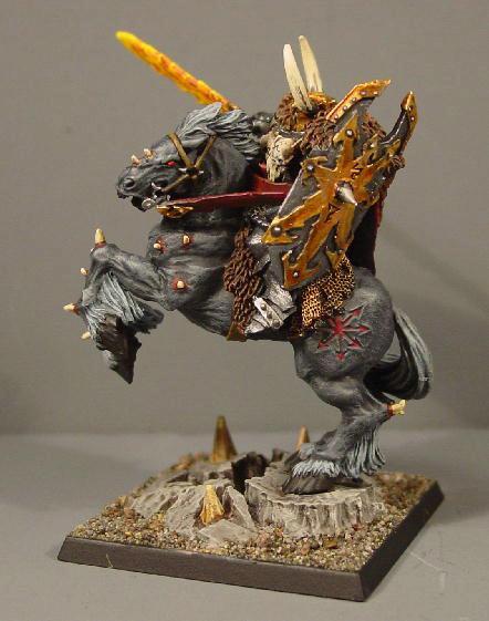 Archaon, Chaos, Chaos Wariors, Pro Painted, Rpg, Warhammer Fantasy, Woc