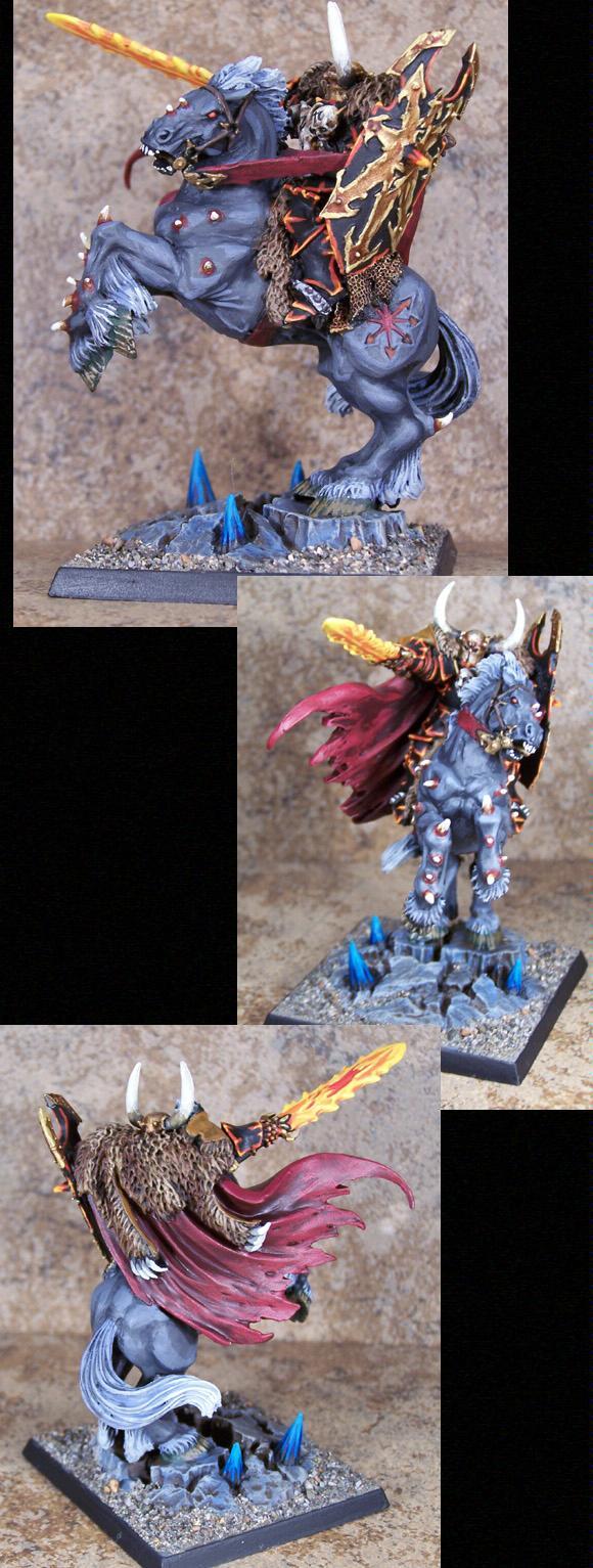 Archaon, Chaos, Chaos Wariors, Pro Painted, Rpg, Warhammer Fantasy