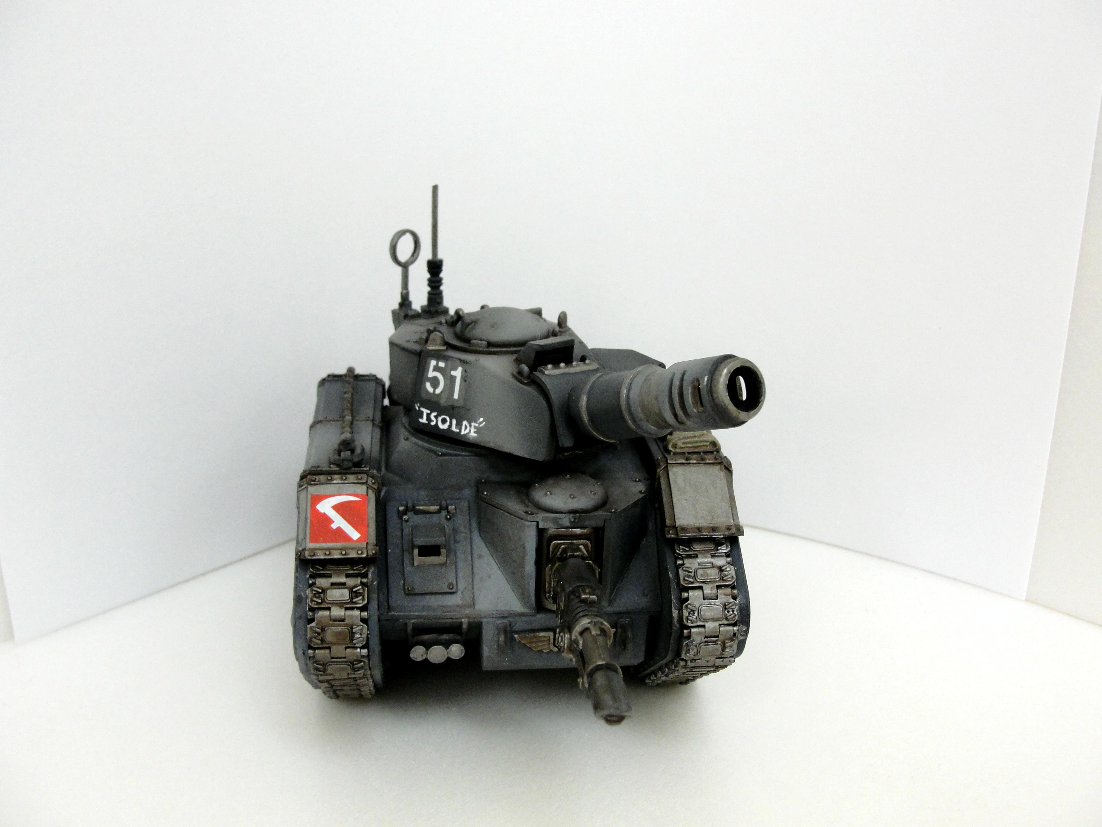 Airbrush, Leman Russ, Tank