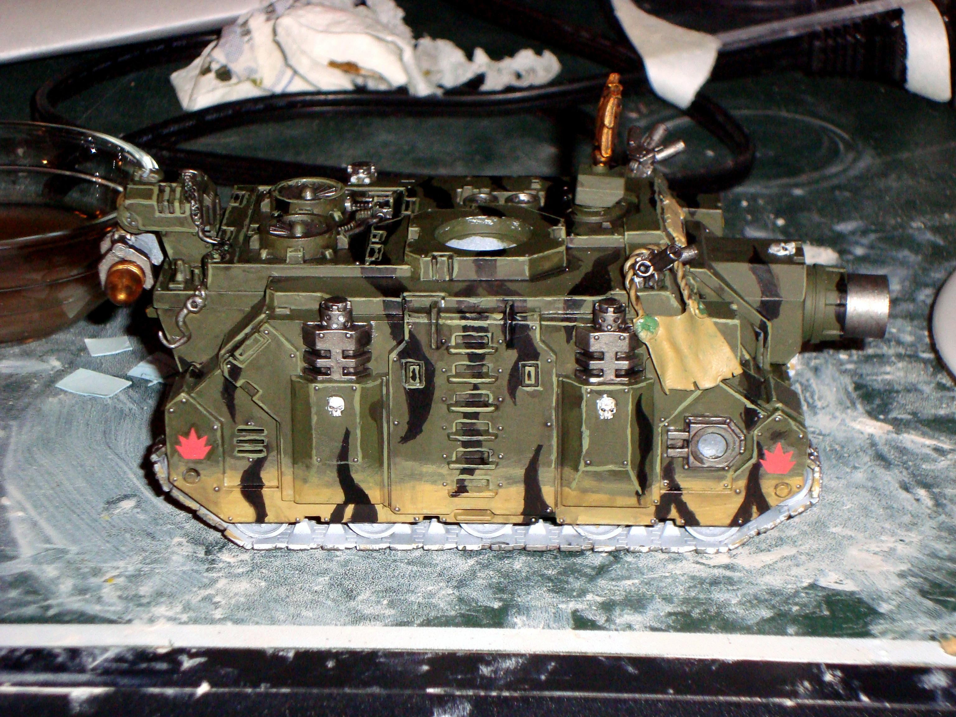 Camouflage, Space Marines, Tank, Vindicator