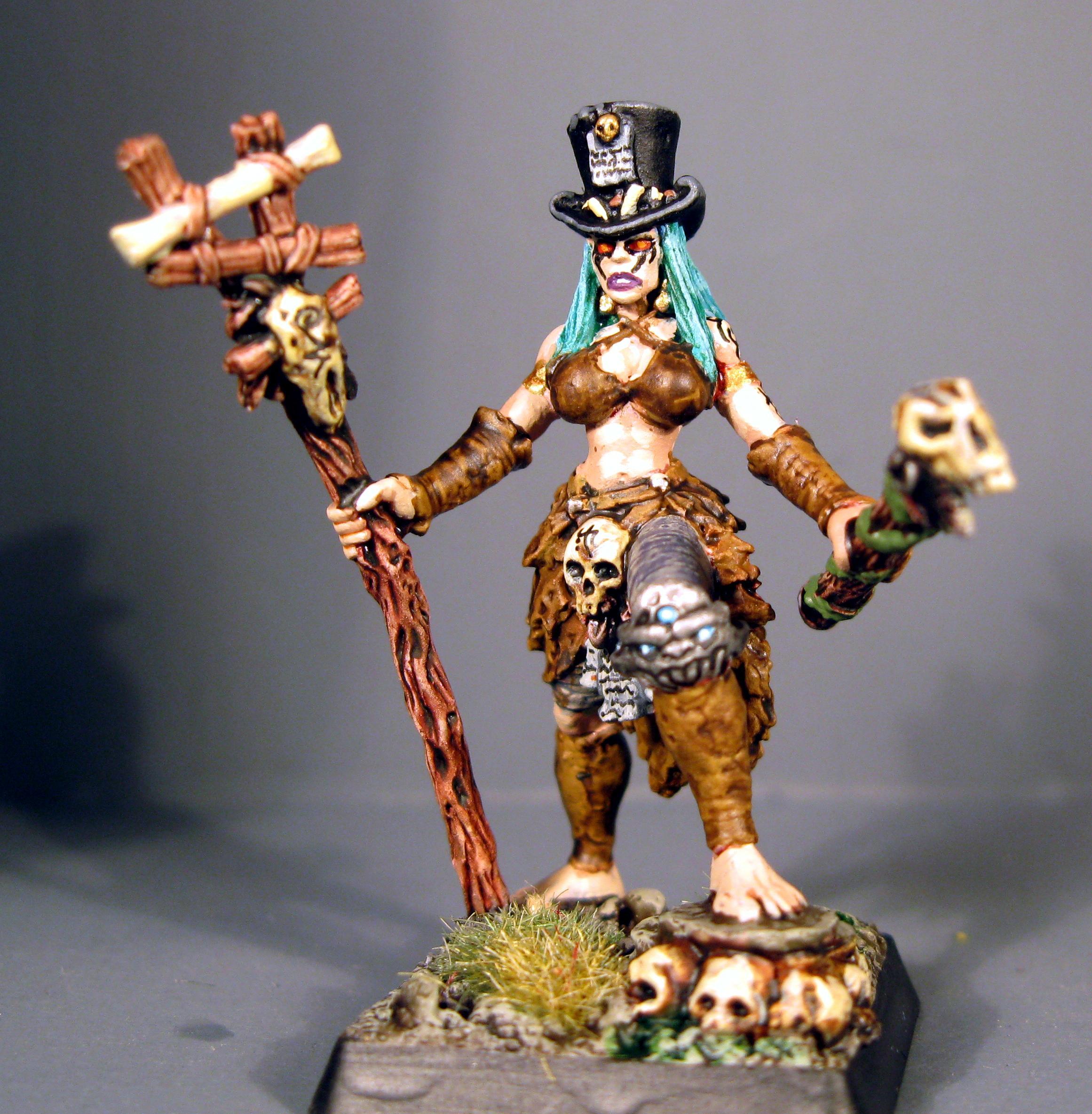 Female, Voodoo