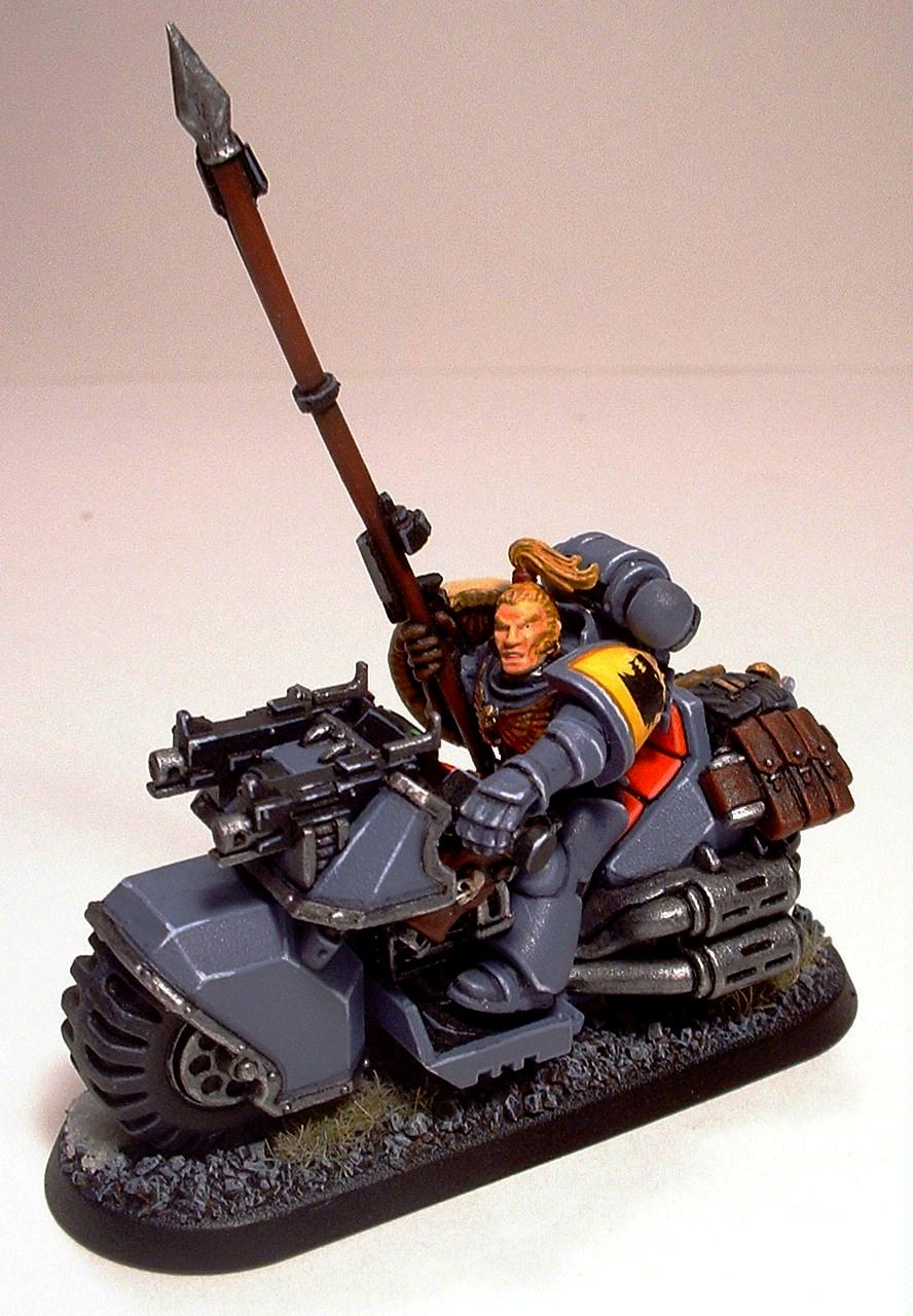 Bike, Space Marine Bikes, Space Marines, Space Wolves, Swift Claws, Warhammer 40,000