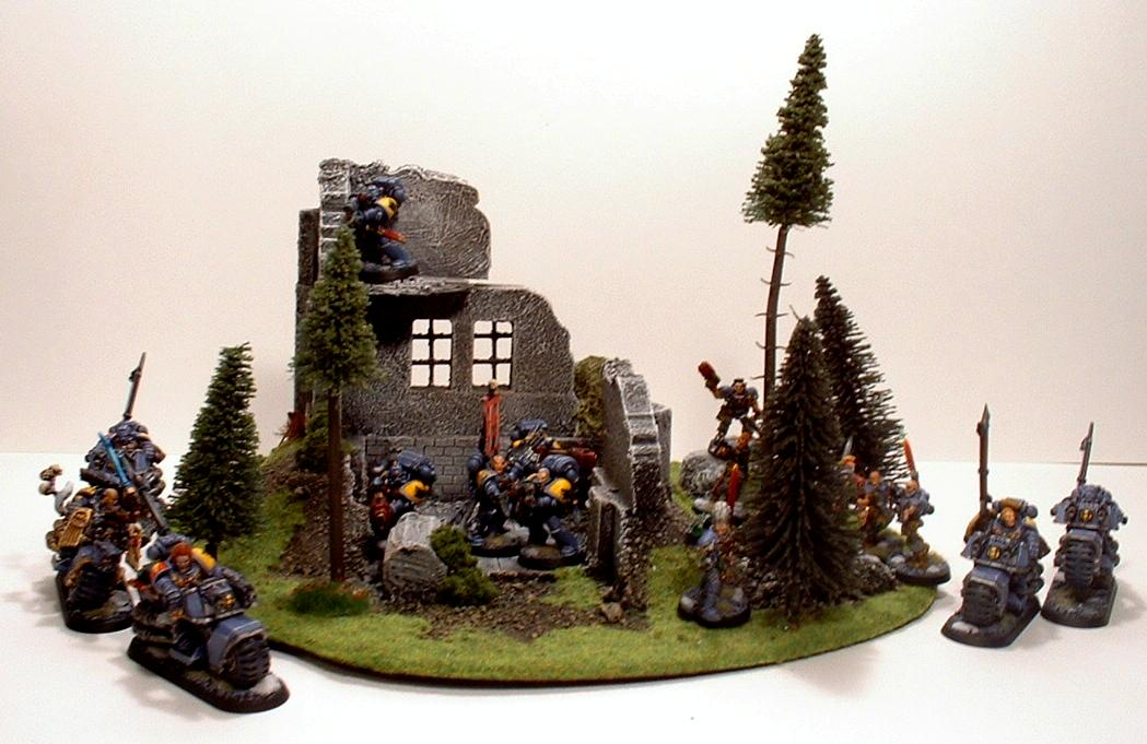 Bike, Long Fangs, Space Marine Bikes, Space Marines, Space Wolves, Swift Claws, Warhammer 40,000, Wolf Guard, Wolf Guard Battle Leader, Wolf Scouts
