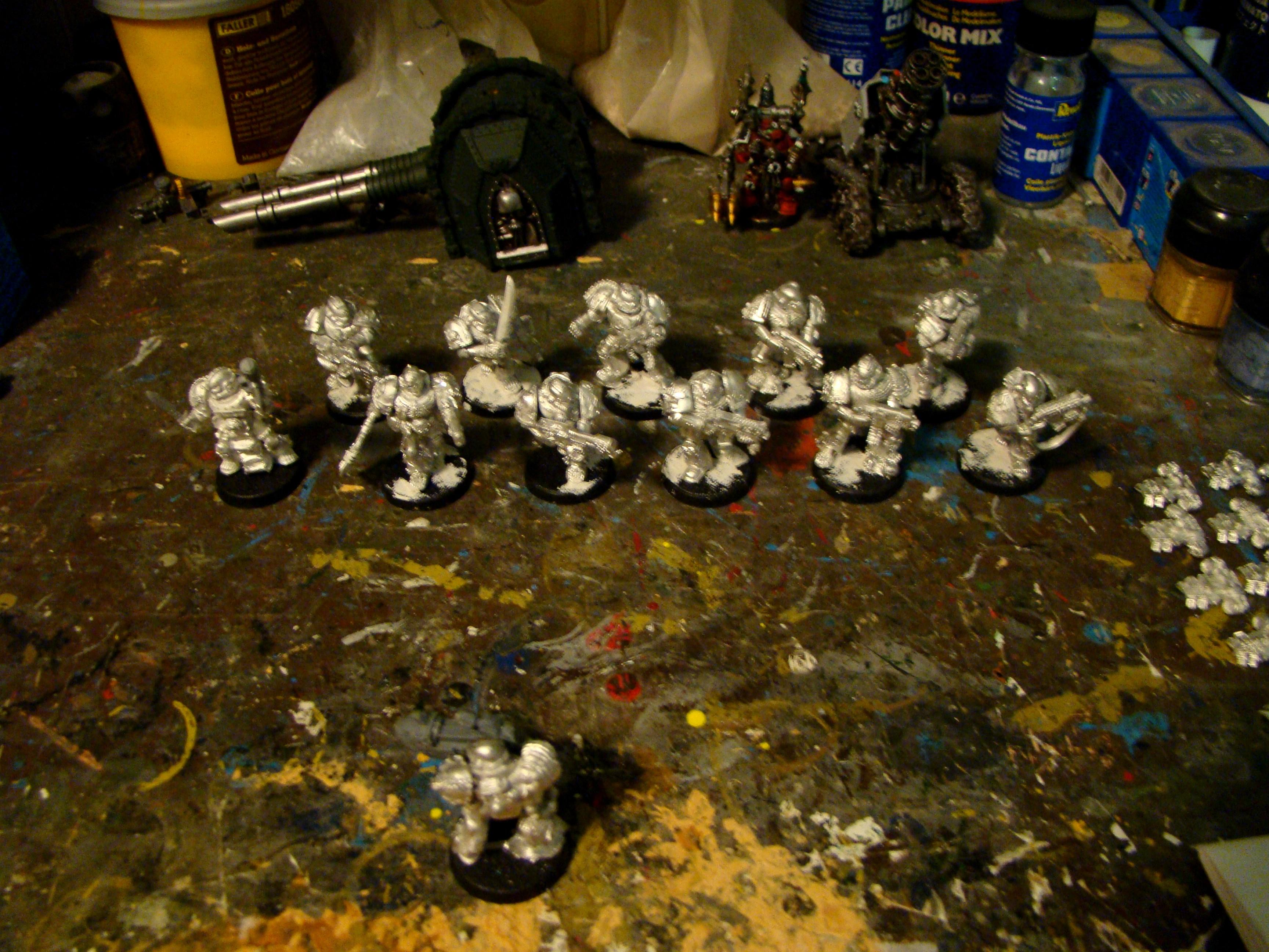 Legion Of The Damned, Space Marines, Work In Progress
