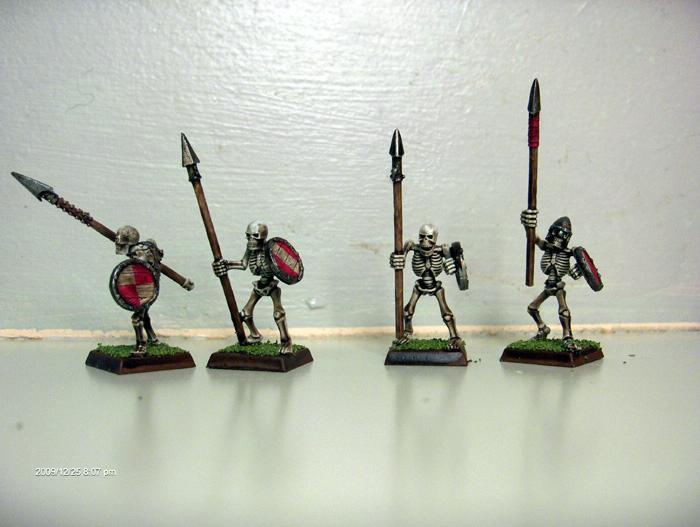 Skeleton Warriors, Vampire Counts, Warhammer Fantasy Battles