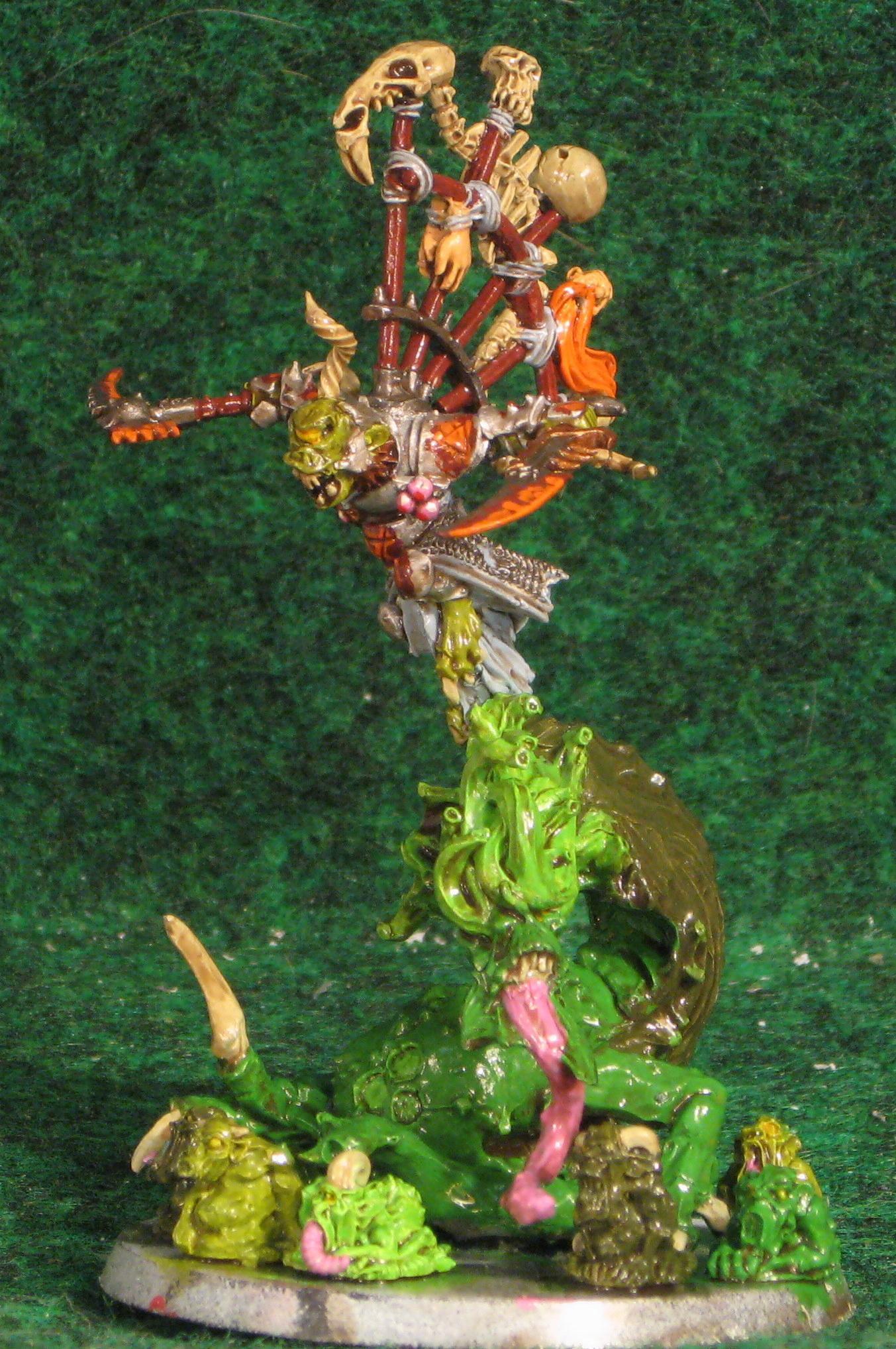 Beast Of Nurgle, Daemons, Herald Of Nurgle, Nurgle, Plaguebearers