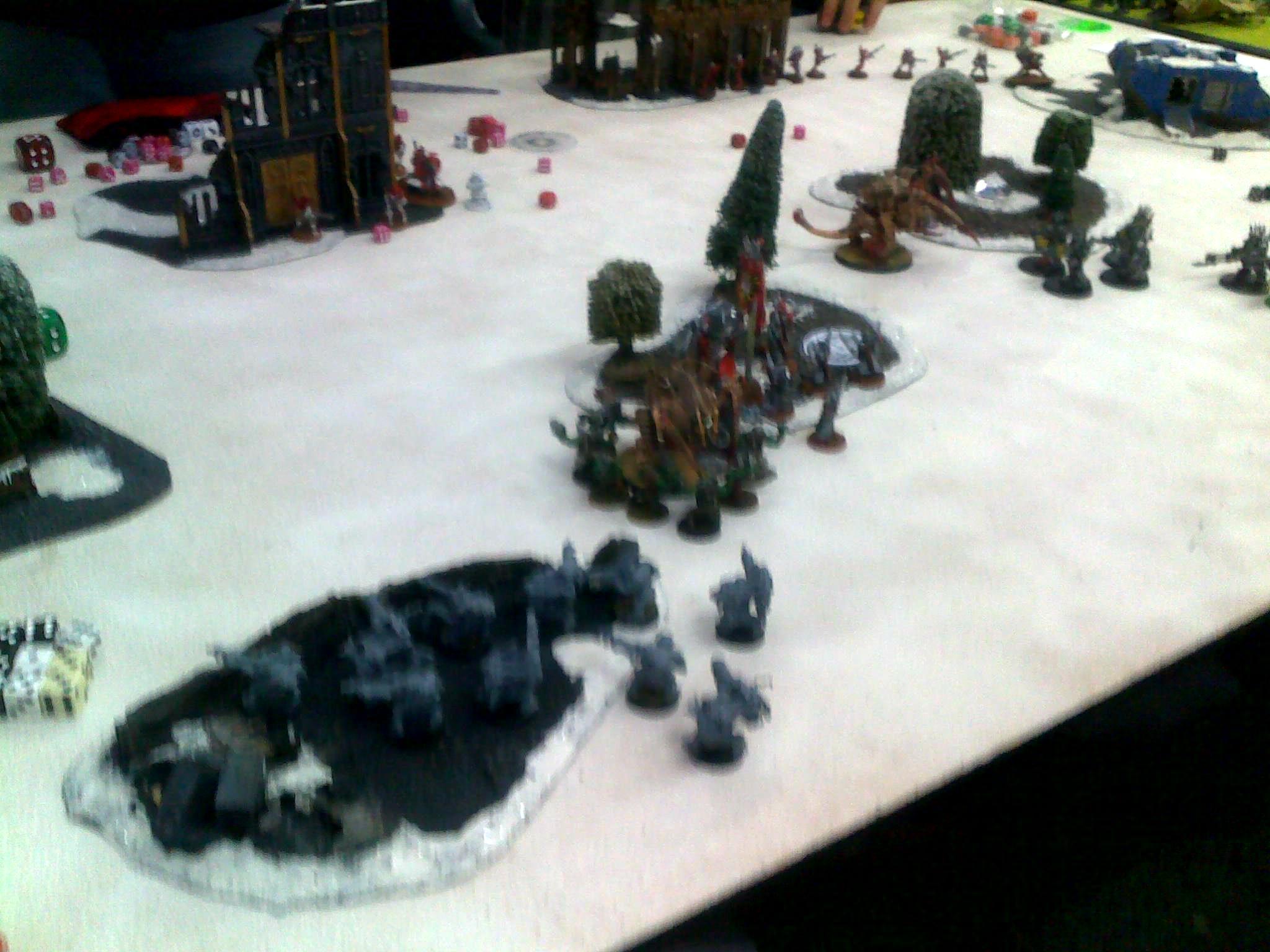 Ork/Chaos vs Eldar/Tyranids