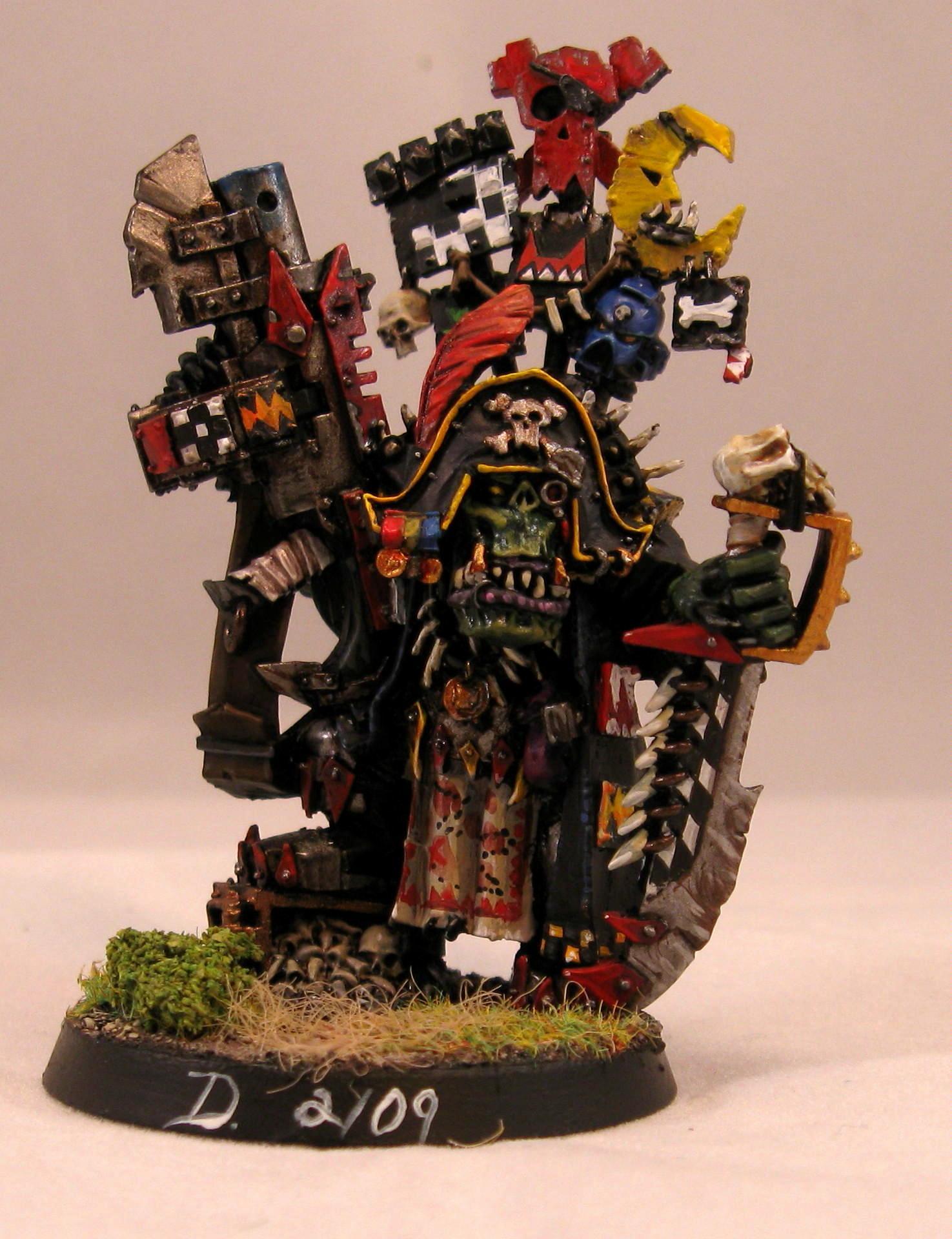 Captain Baddruk, Orks