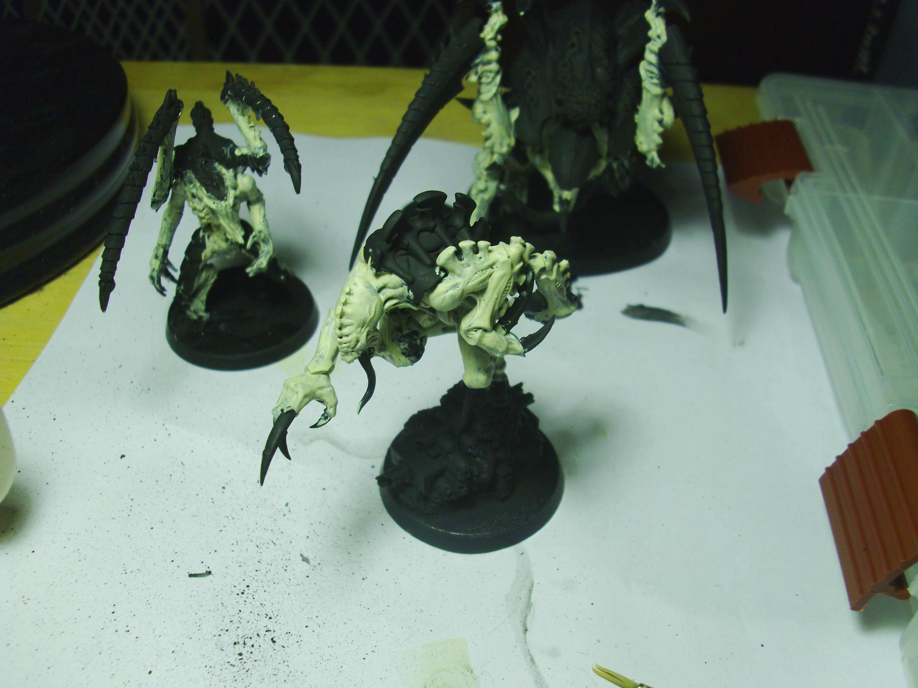 Broodlord, Lictor, and Godfex