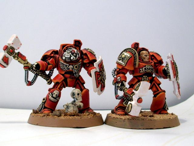Blood Angels, Close Combat, Storm Shield, Terminator Armor, Thunder Hammer